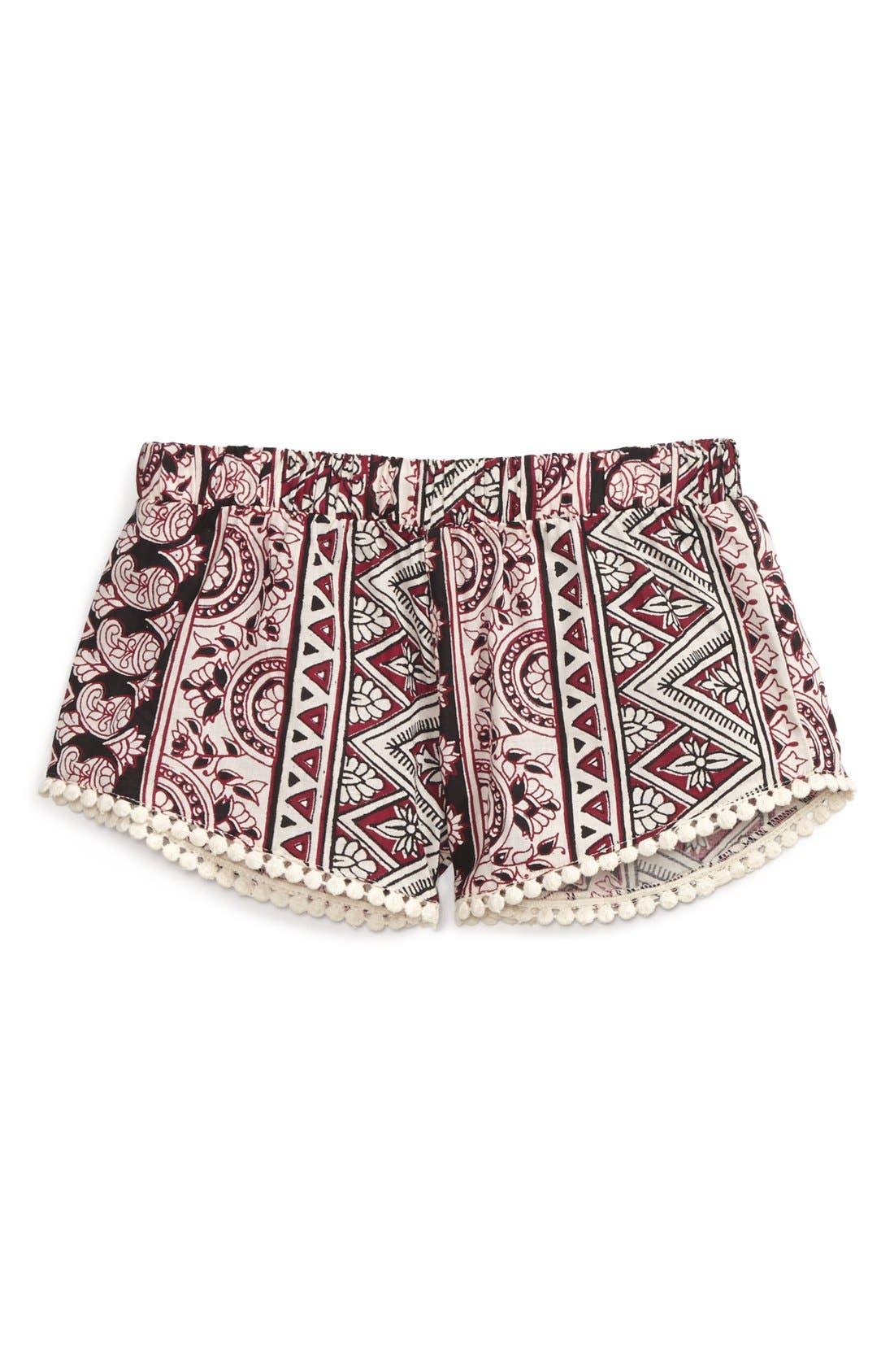 Alternate Image 1 Selected - Billabong 'Groovy Sea' Shorts (Little Girls)