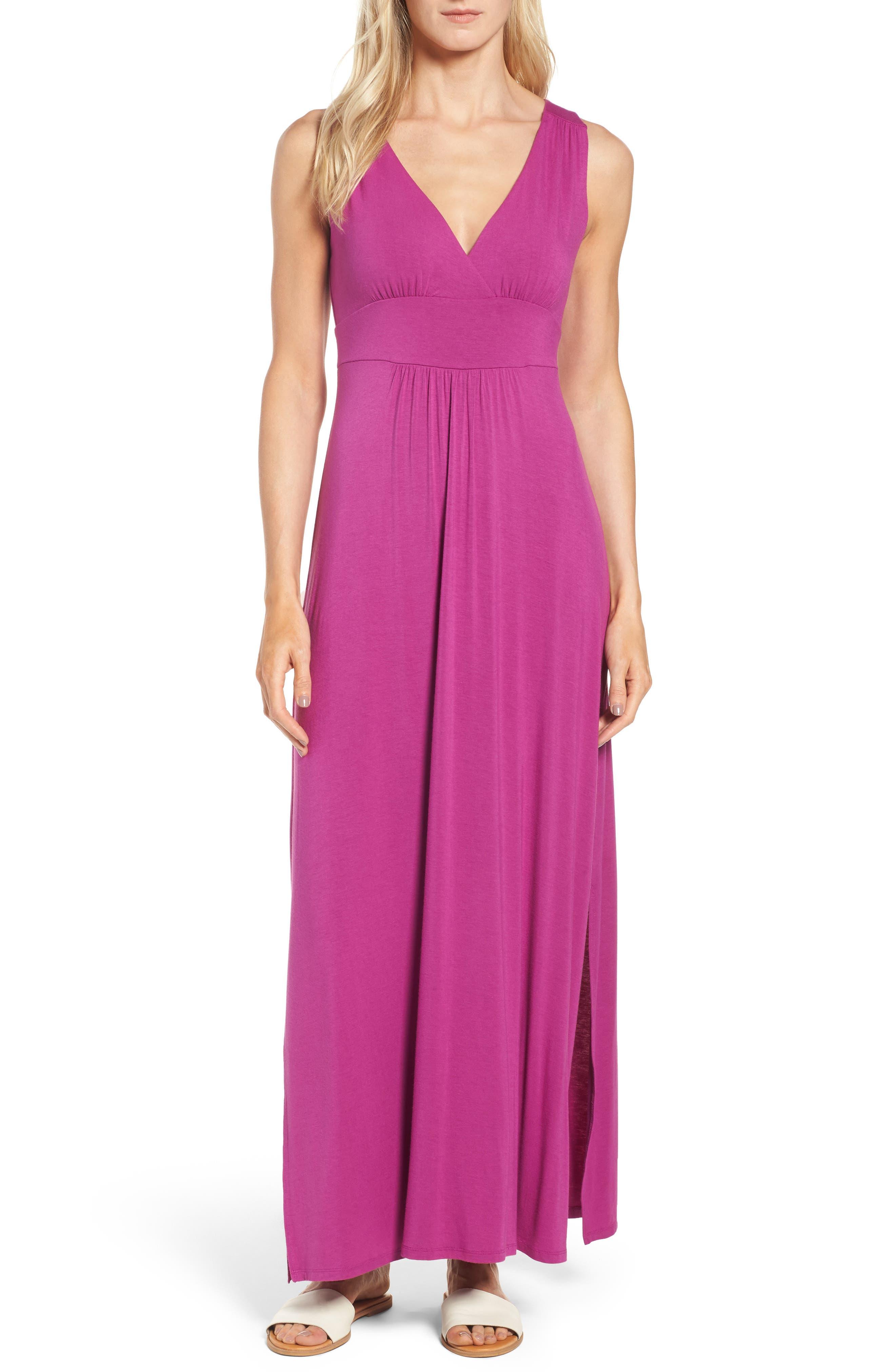 Main Image - Caslon® Knit Maxi Dress (Regular & Petite)