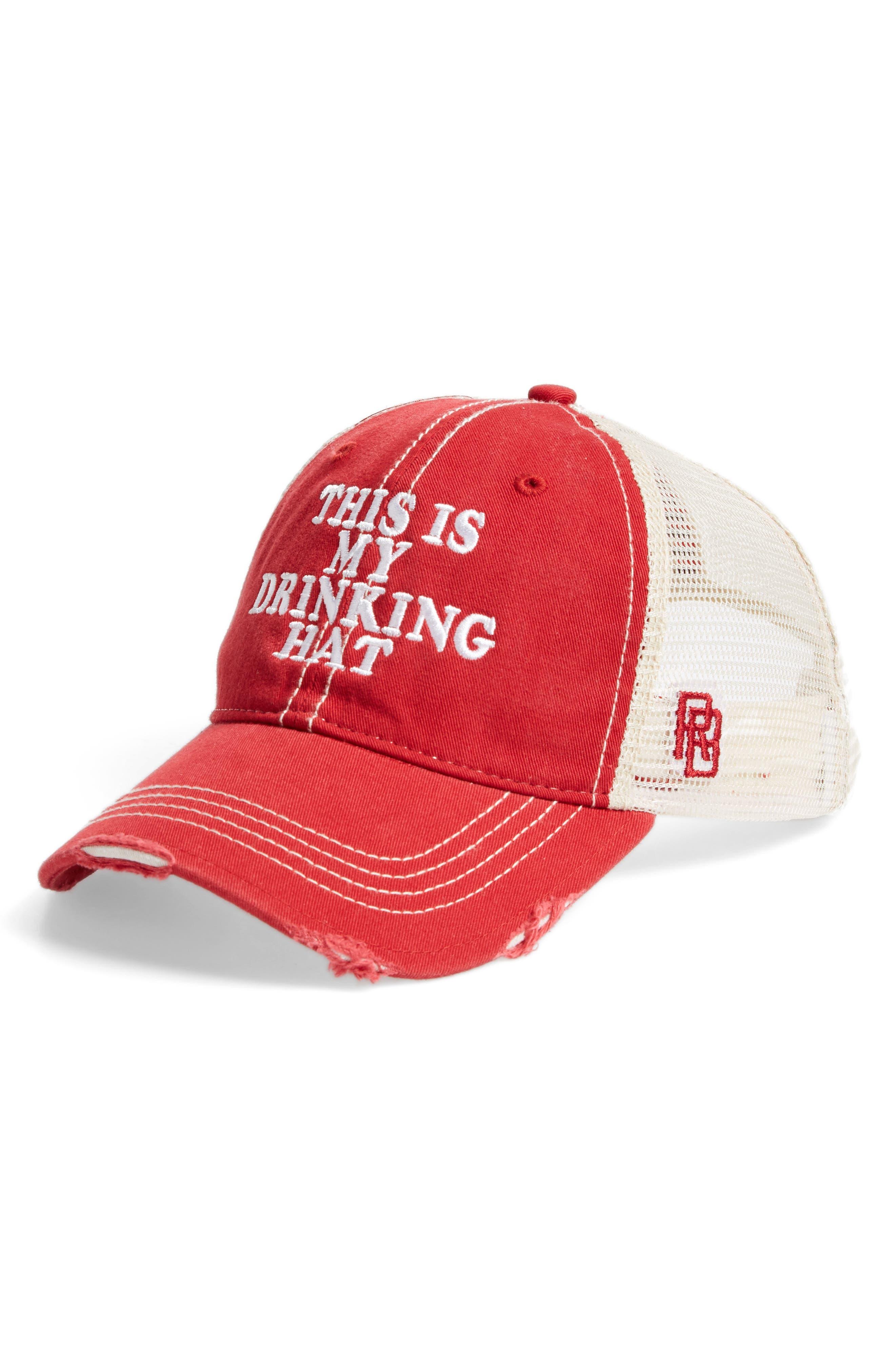 Original Retro Brand This is My Drinking Hat Trucker Hat