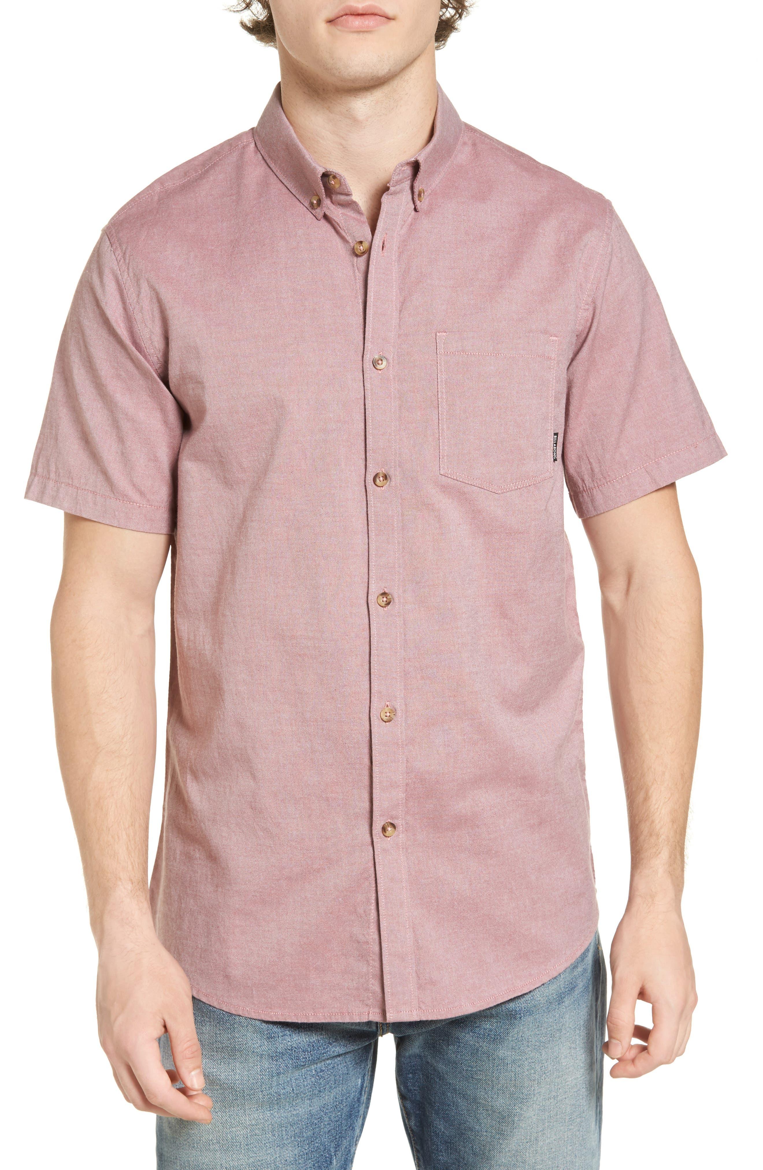 Billabong All-Day Short-Sleeve Oxford Shirt