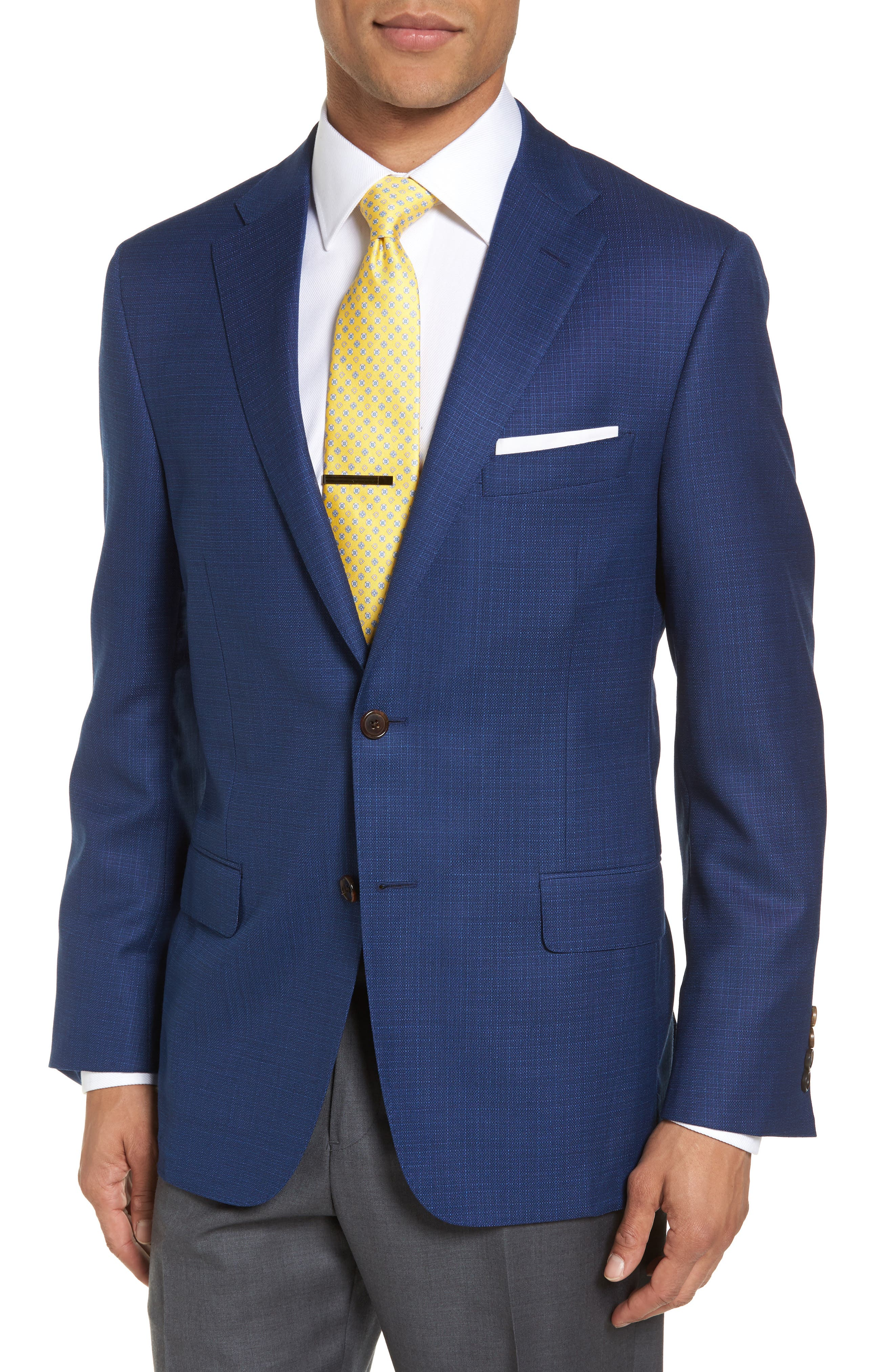 Hickey Freeman B Series Classic Fit Wool Blazer