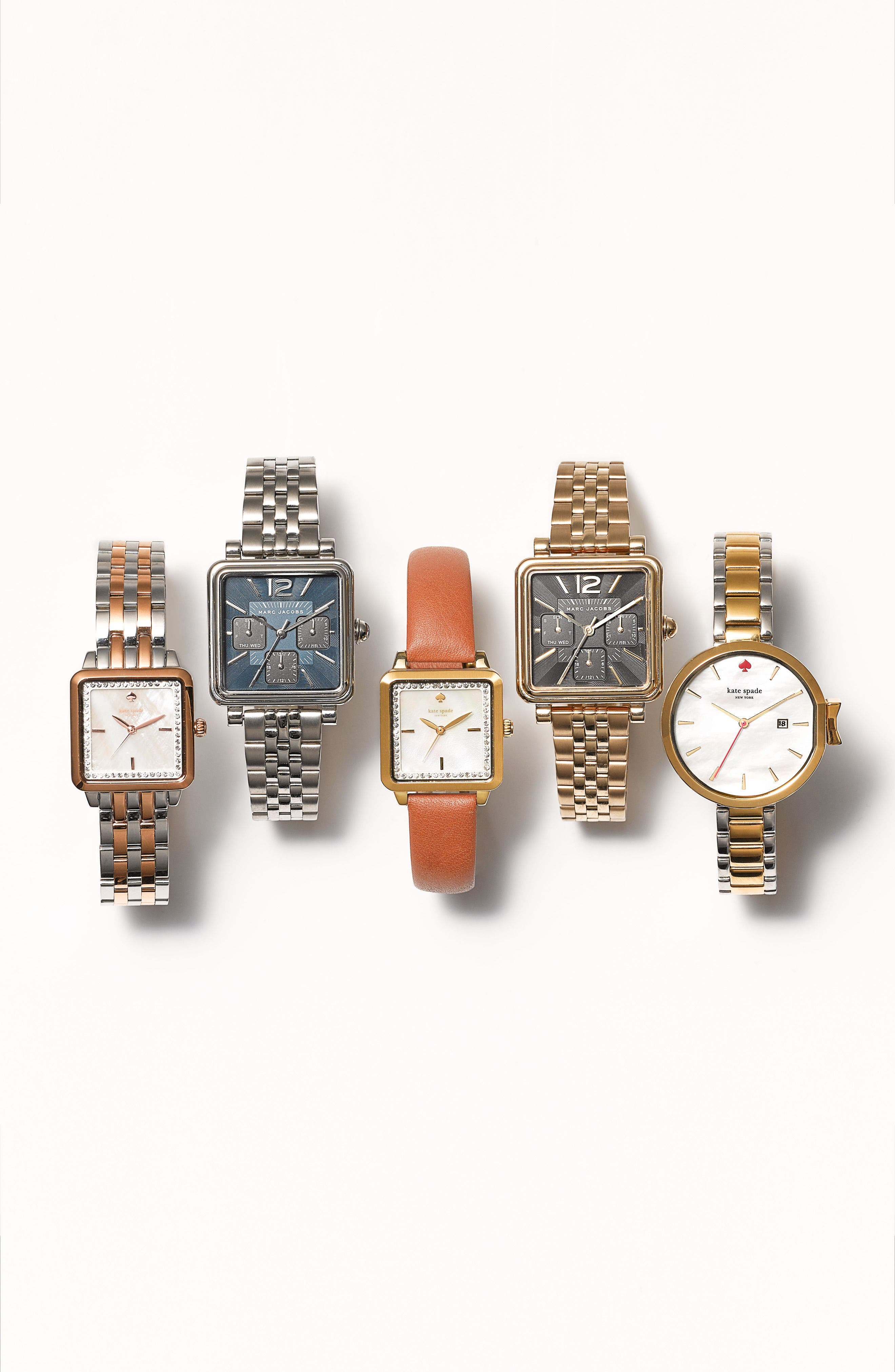 Alternate Image 3  - kate spade new york park row bracelet watch, 34mm
