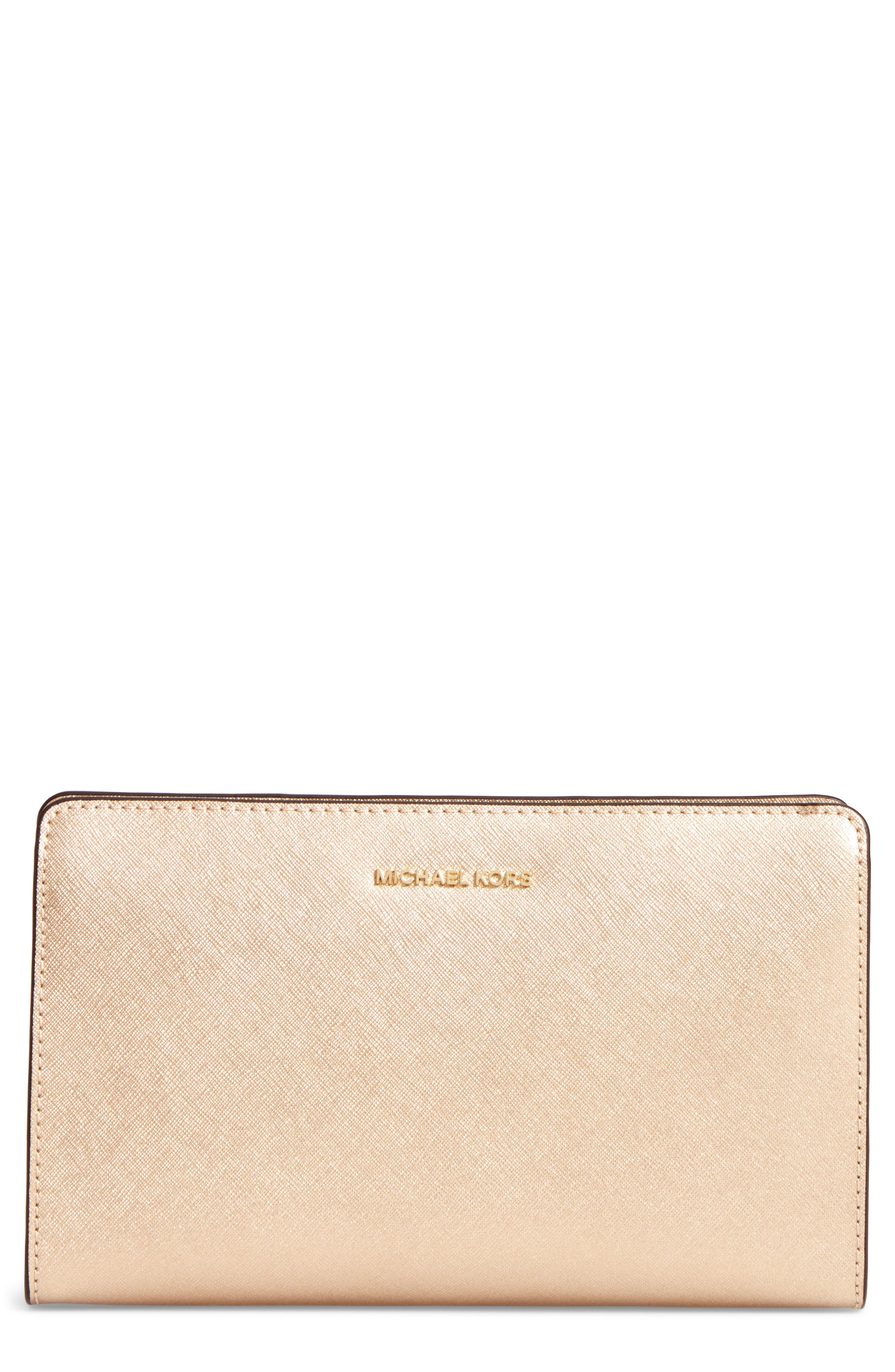 MICHAEL Michael Kors Large Jet Set Convertible Clutch