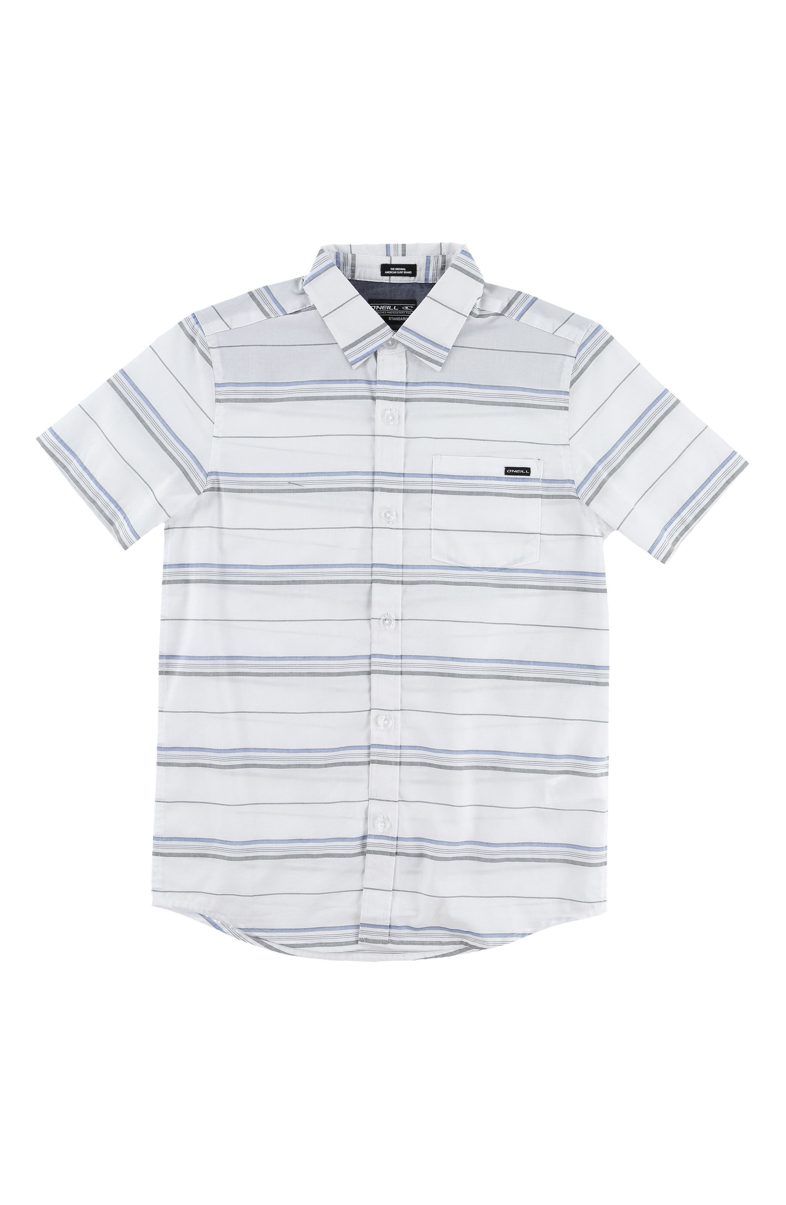 O'Neill Stripe Woven Shirt (Toddler Boys & Little Boys)