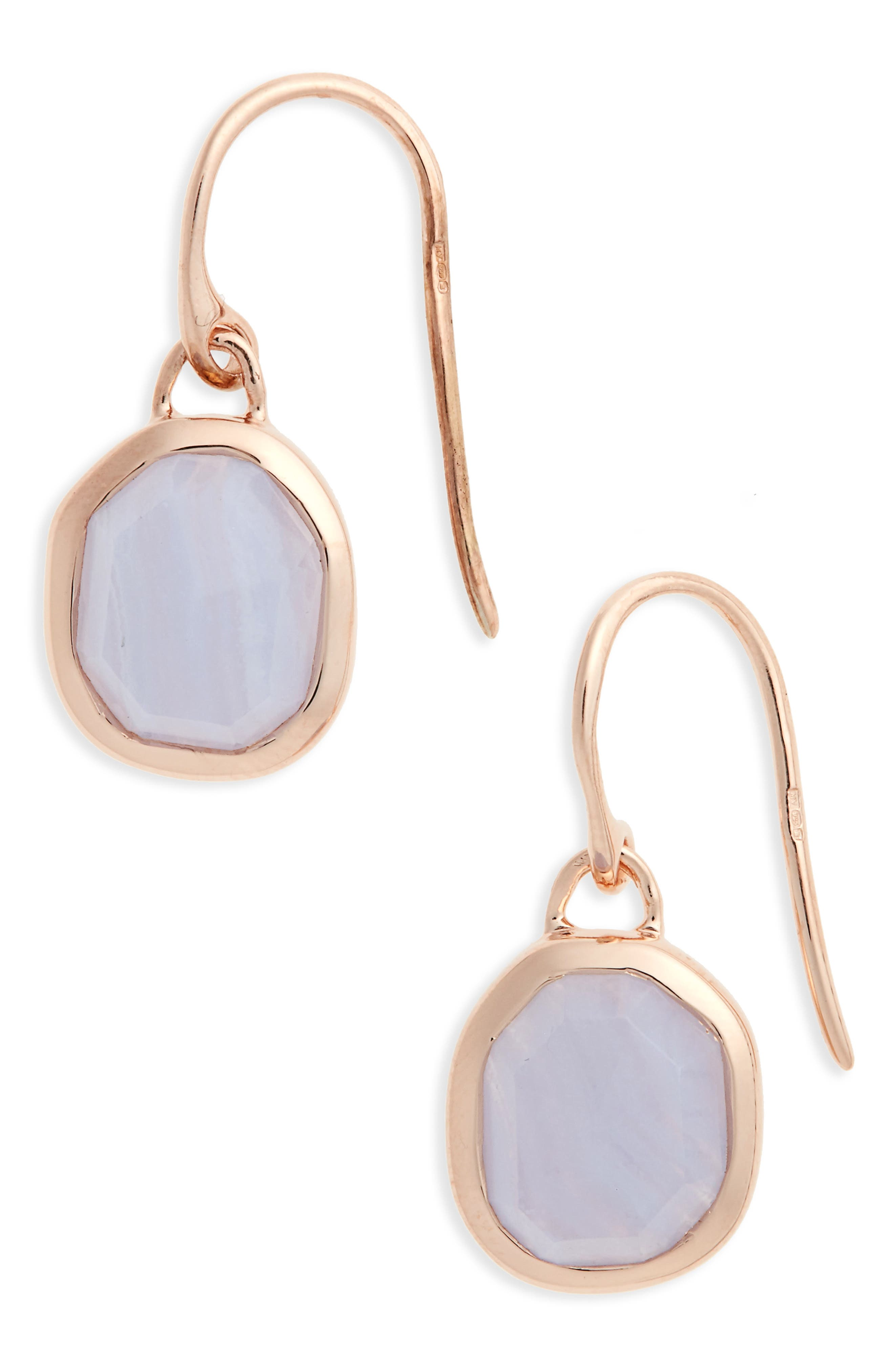 Alternate Image 1 Selected - Monica Vinader Siren Semiprecious Stone Drop Earrings