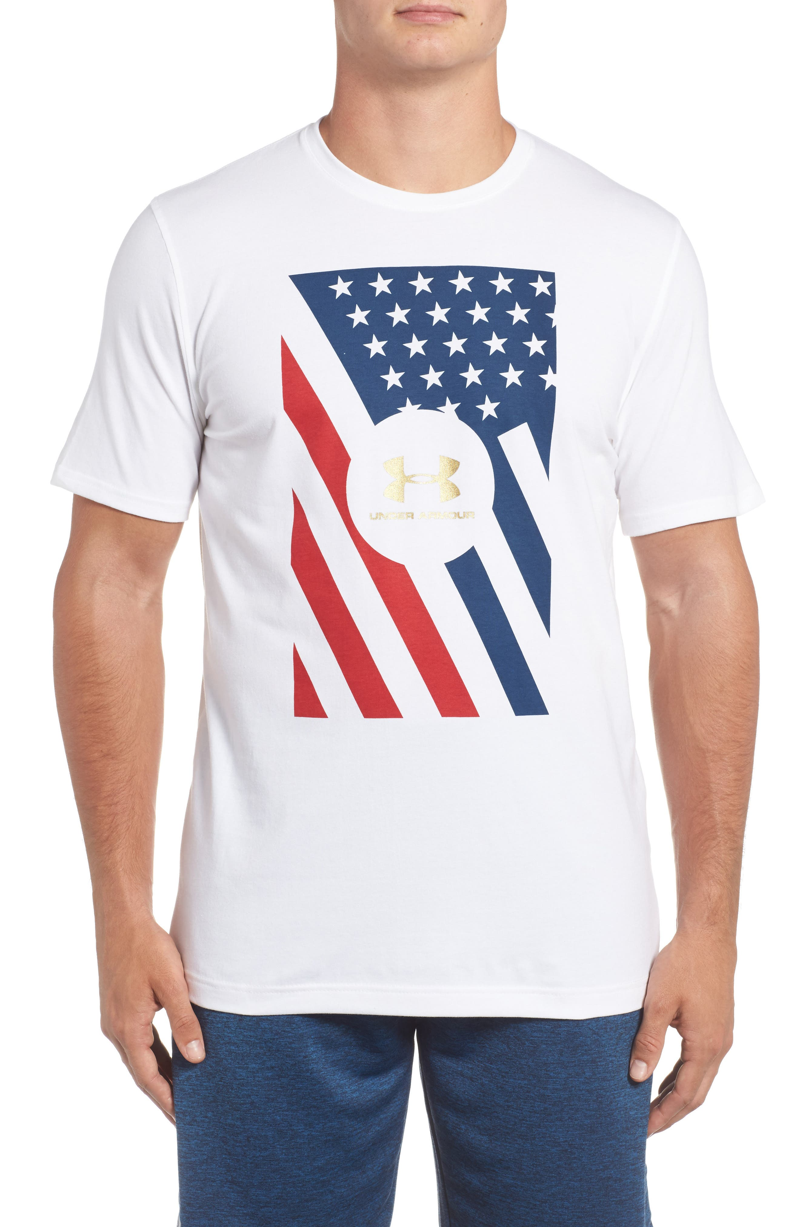 Under Armour Rep The USA T-Shirt