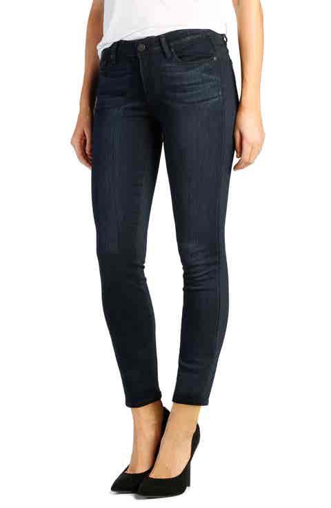 PAIGE Verdugo Crop Skinny Jeans (Mae)