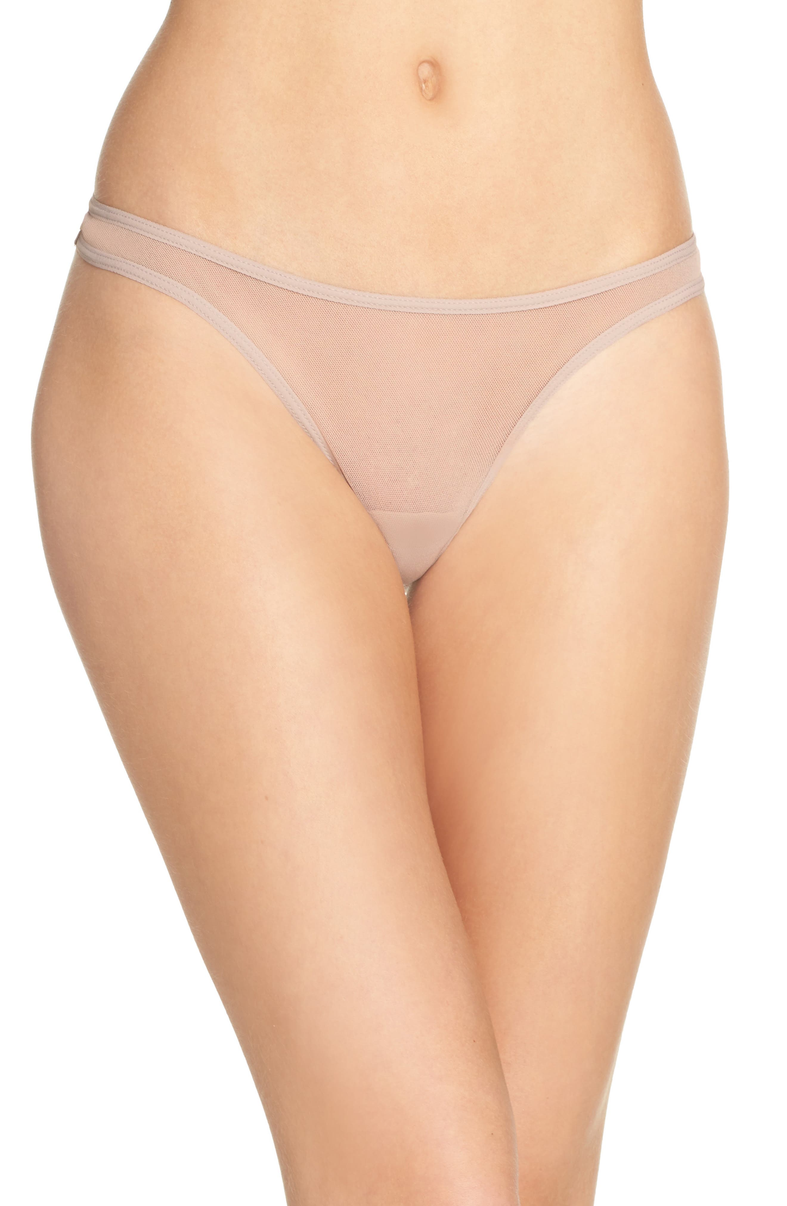 Cosabella 'Soire' Low Rise Mesh Thong