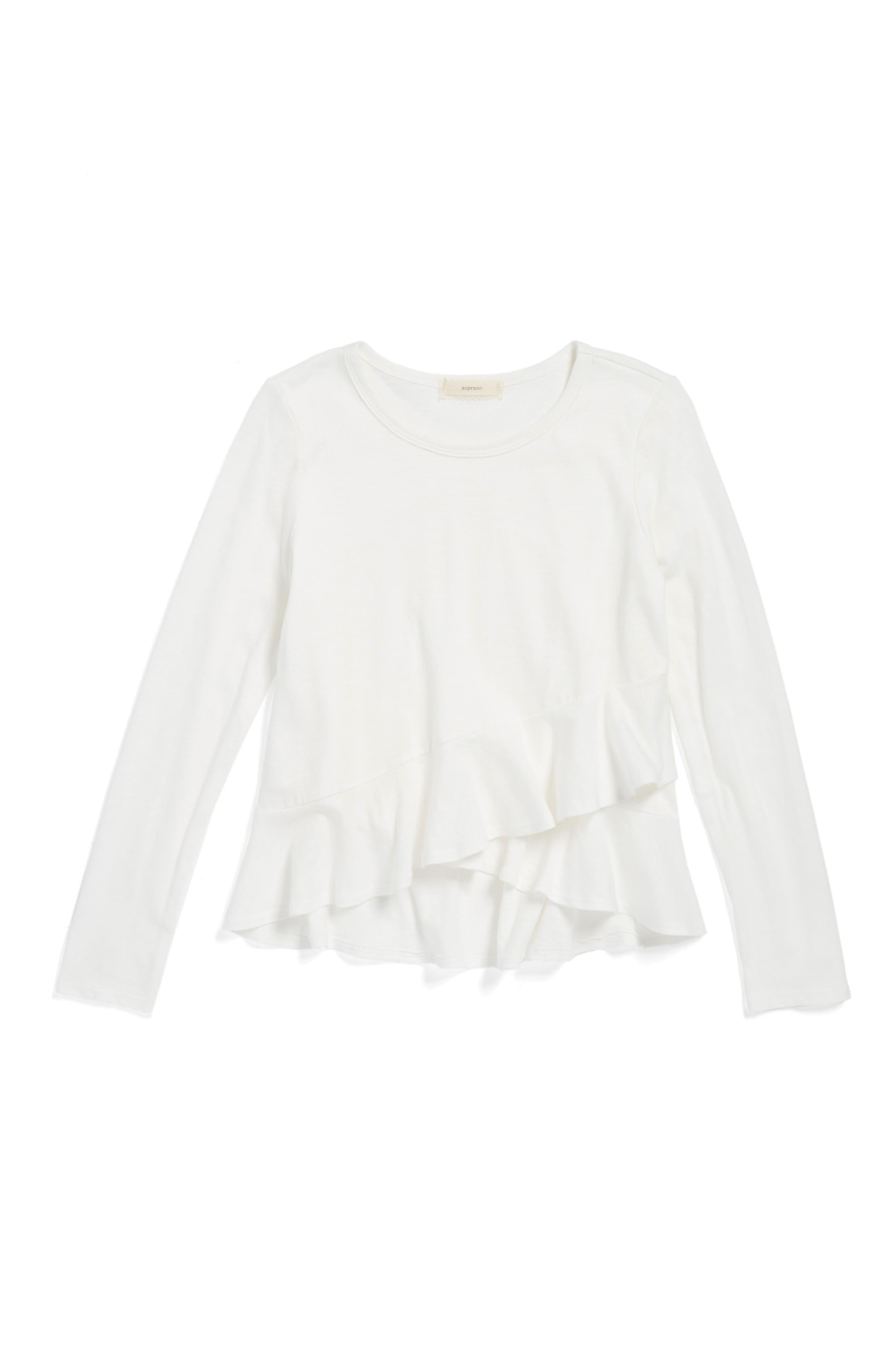 Soprano Ruffle Shirt (Big Girls)