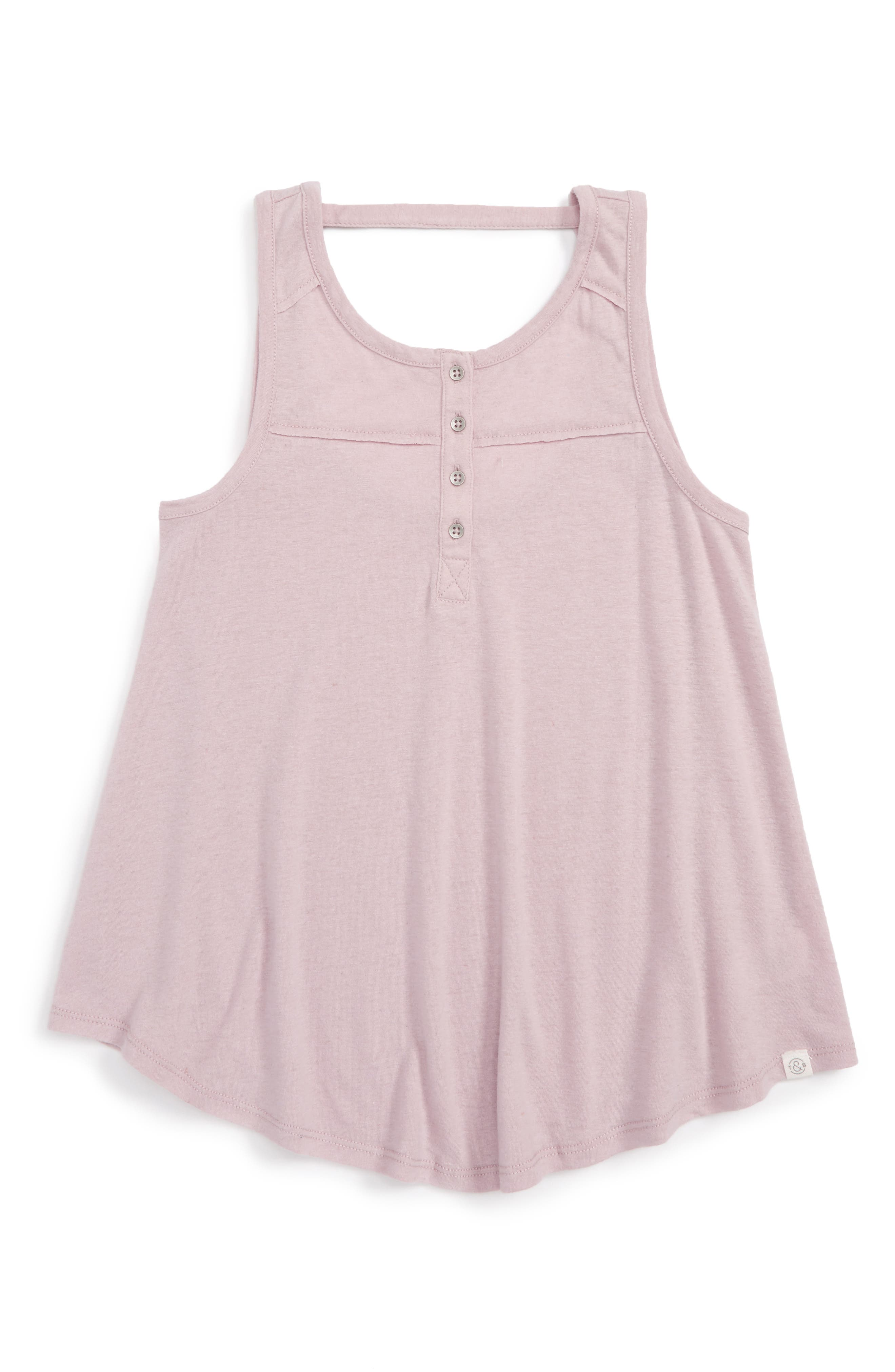 Treasure & Bond Henley Tank (Big Girls)