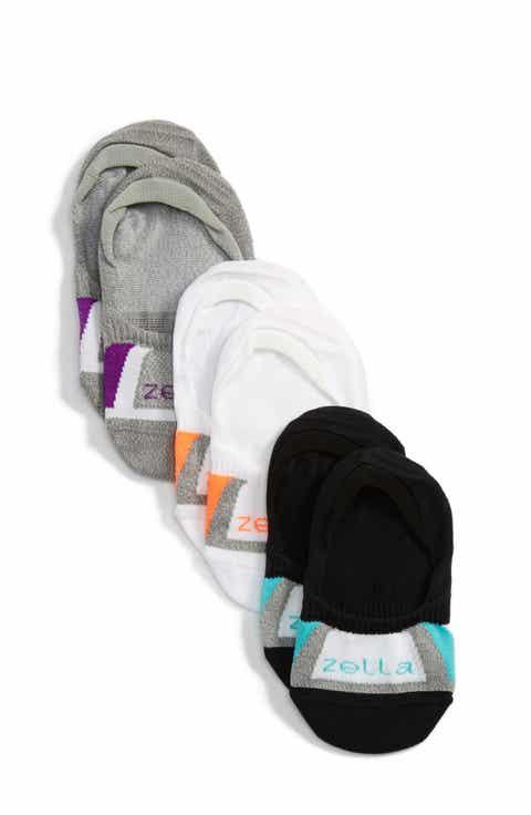 Zella Girl Secret 3-Pack No-Show Socks (Toddler, Little Kid   Big Kid)