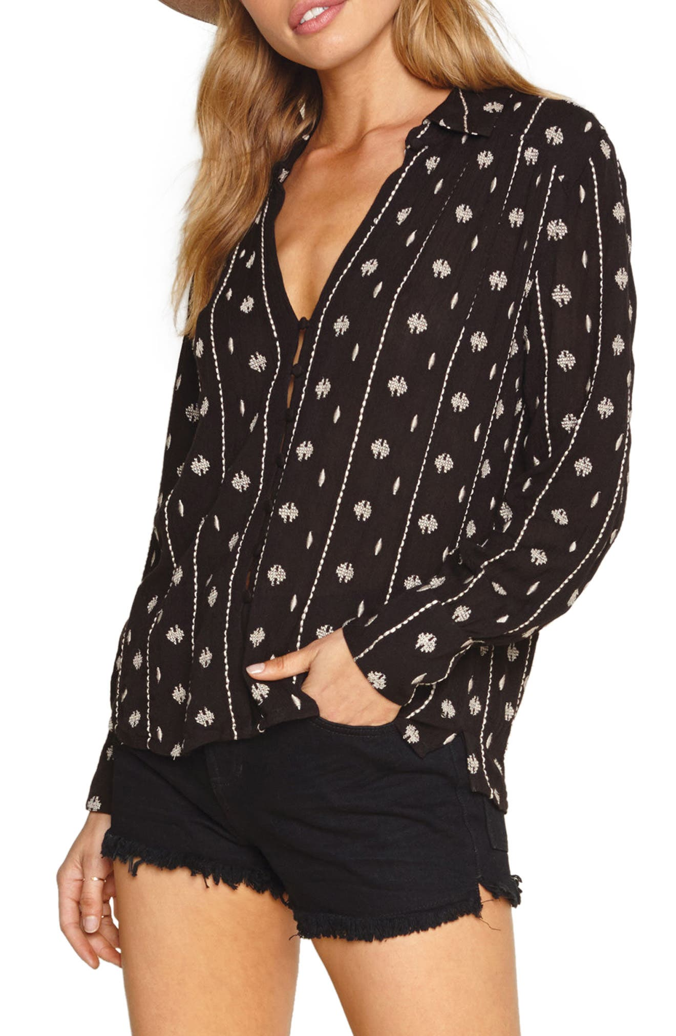 Amuse Society Stinston Woven Shirt