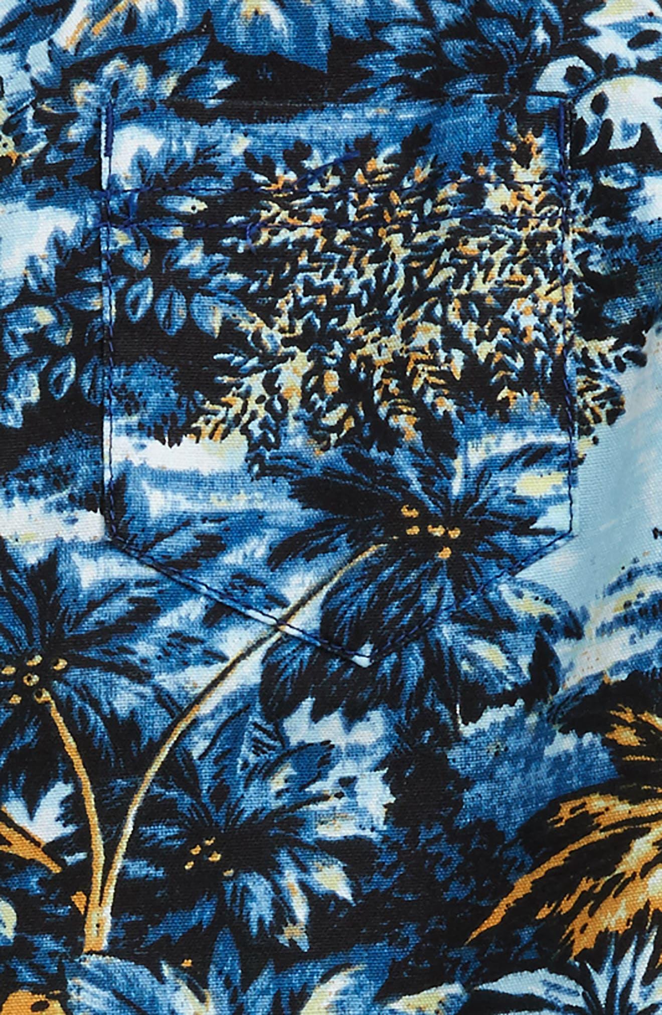 Alternate Image 2  - Tucker + Tate Print Woven Shirt (Toddler Boys & Little Boys)