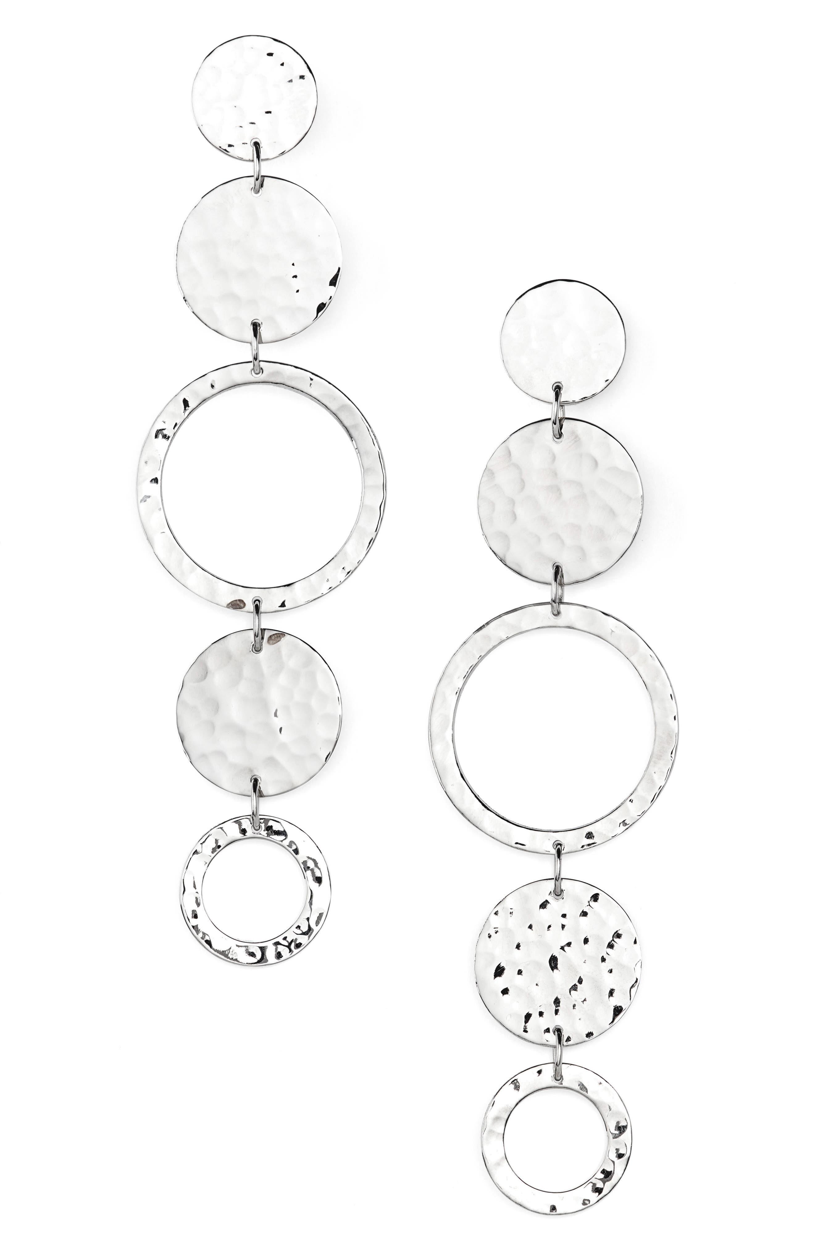 Argento Vivo Linear Earrings