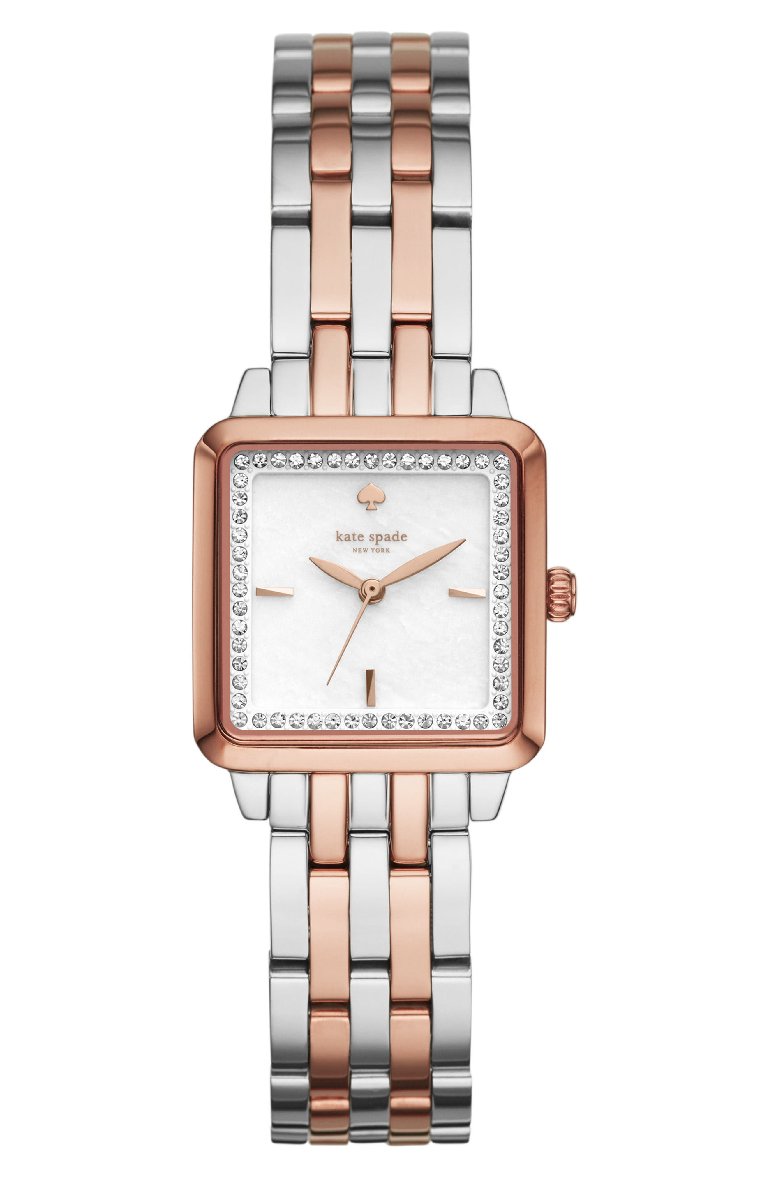 kate spade new york washington square bracelet watch, 25mm
