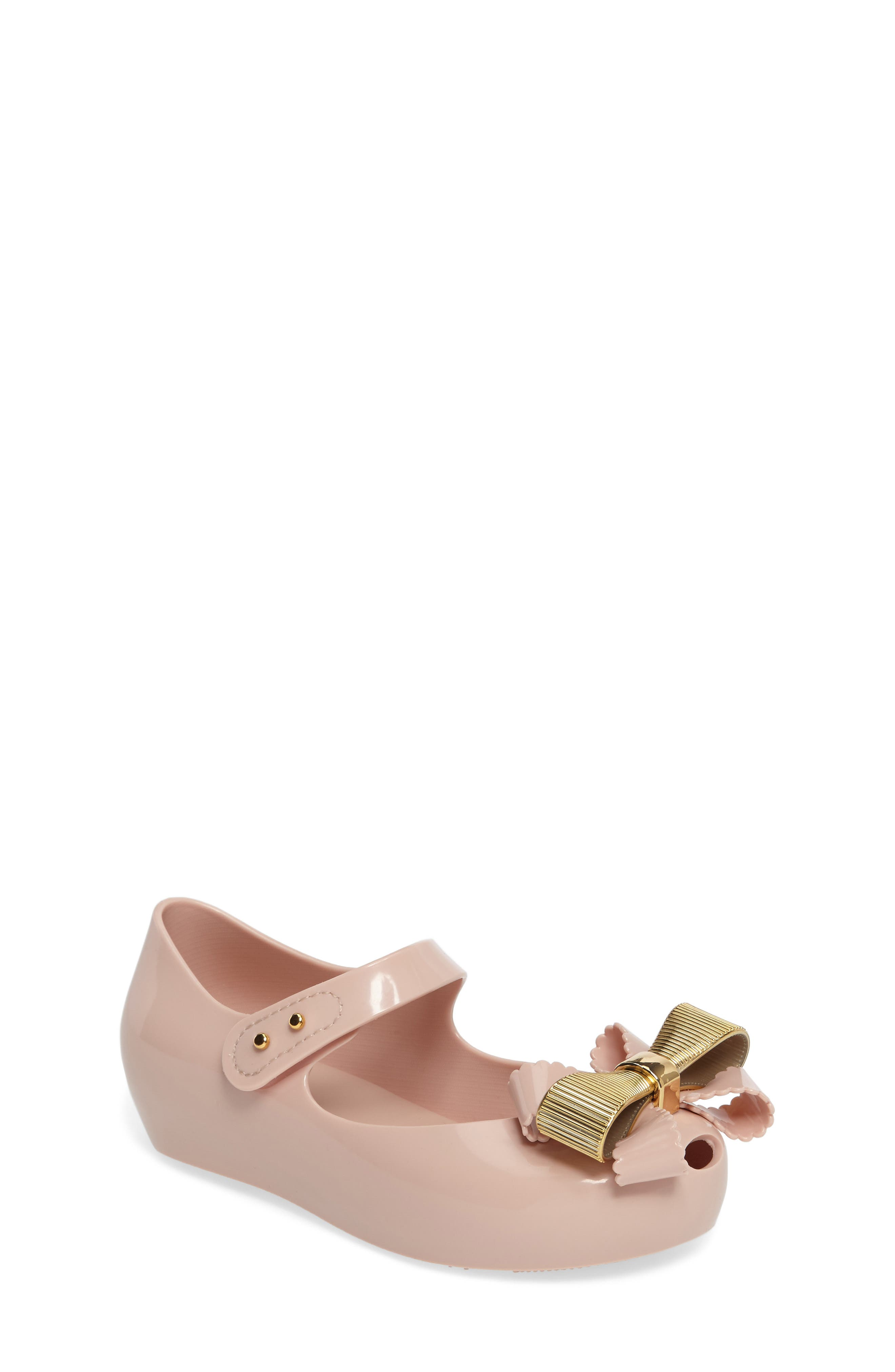 Mini Melissa Ultragirl Sweet IV Mary Jane Flat (Walker & Toddler)