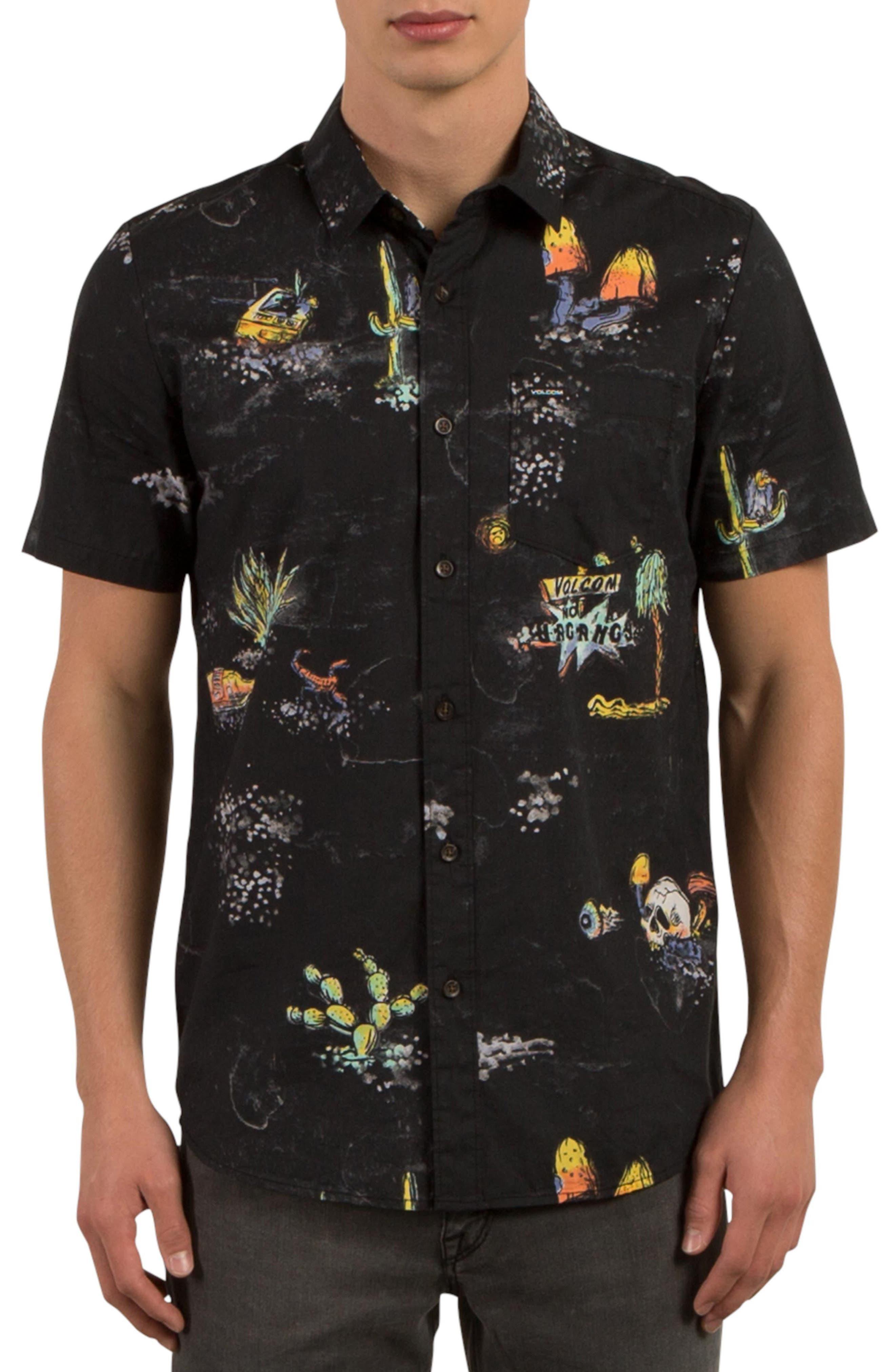 Volcom No Vacancy Print Shirt
