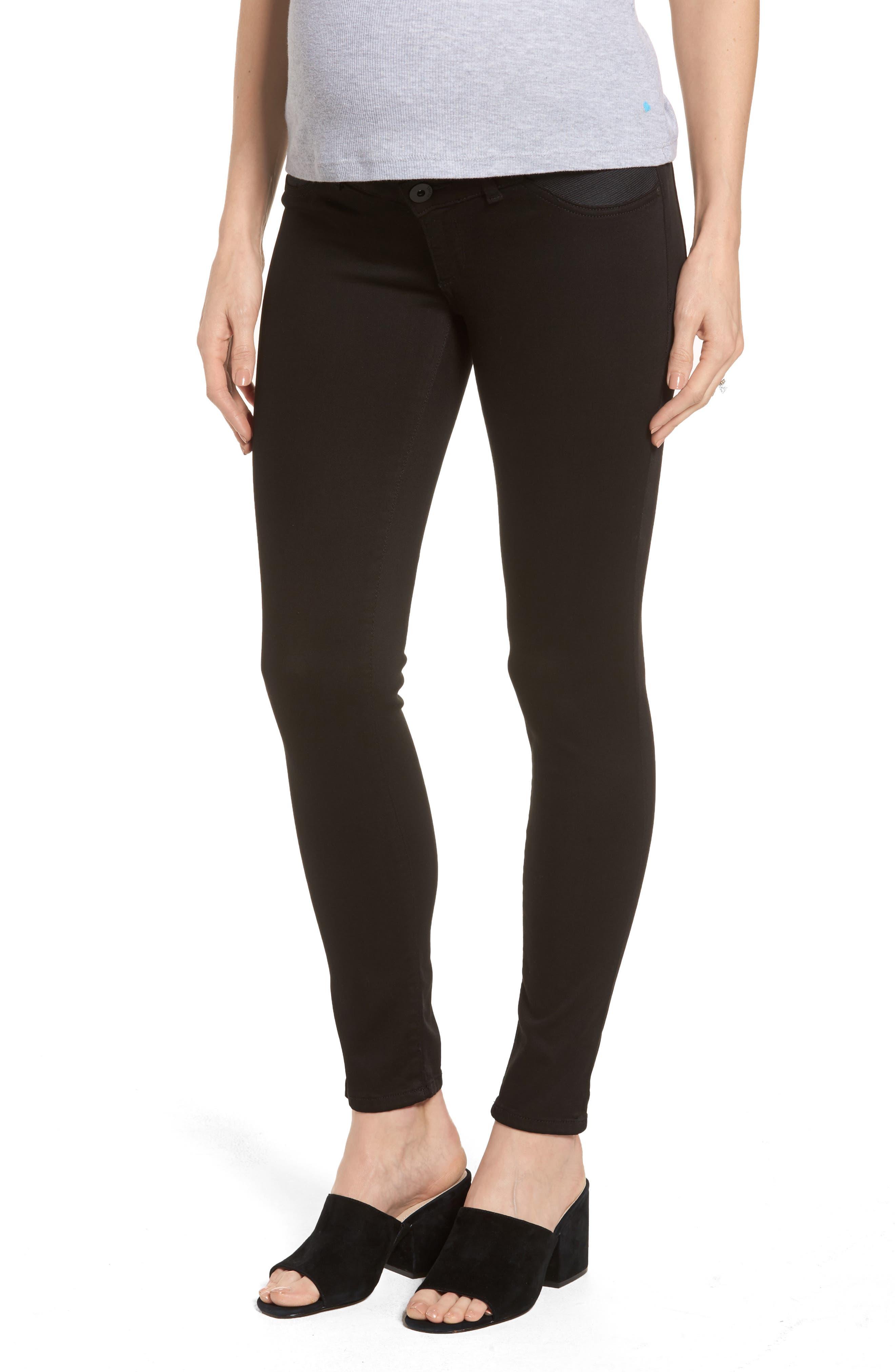 DL1961 Emma Power Legging Maternity Jeans (Hail)