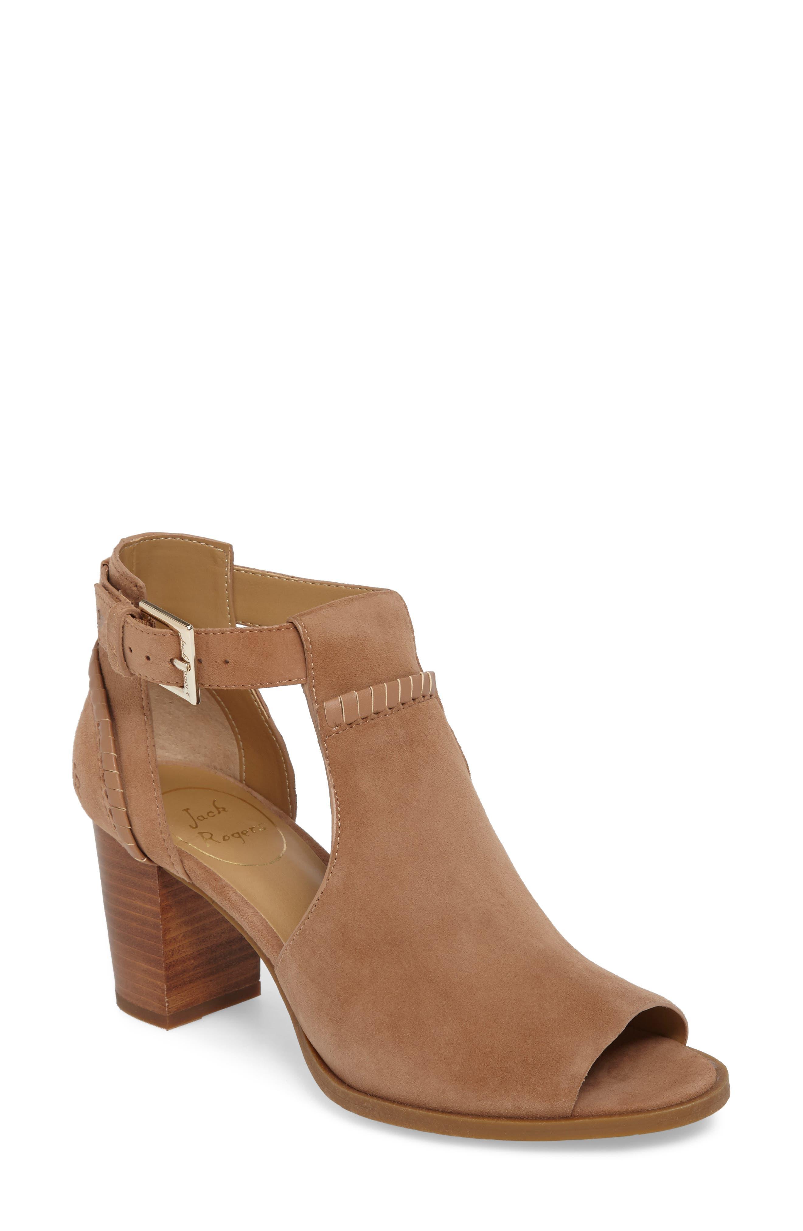 Jack Rogers Cameron Block Heel Sandal (Women)