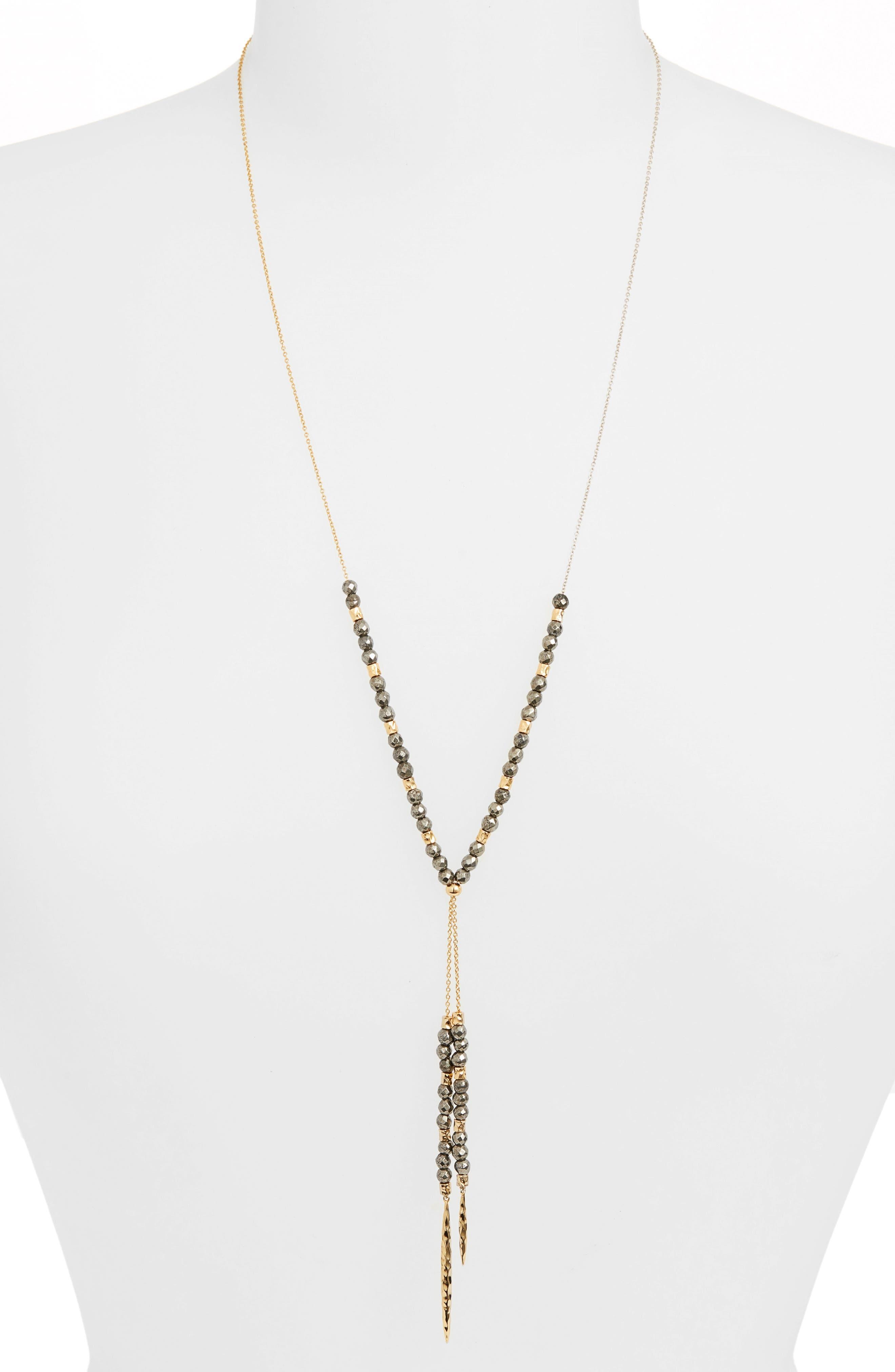 Alternate Image 1 Selected - gorjana Power Stone Semiprecious Stone Necklace