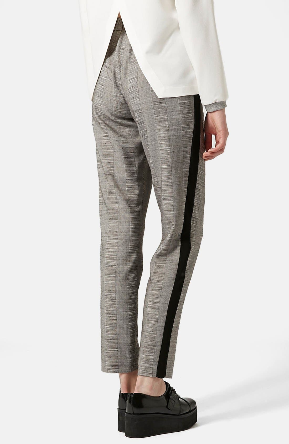 Alternate Image 2  - Topshop Check Tailored Jogger Pants