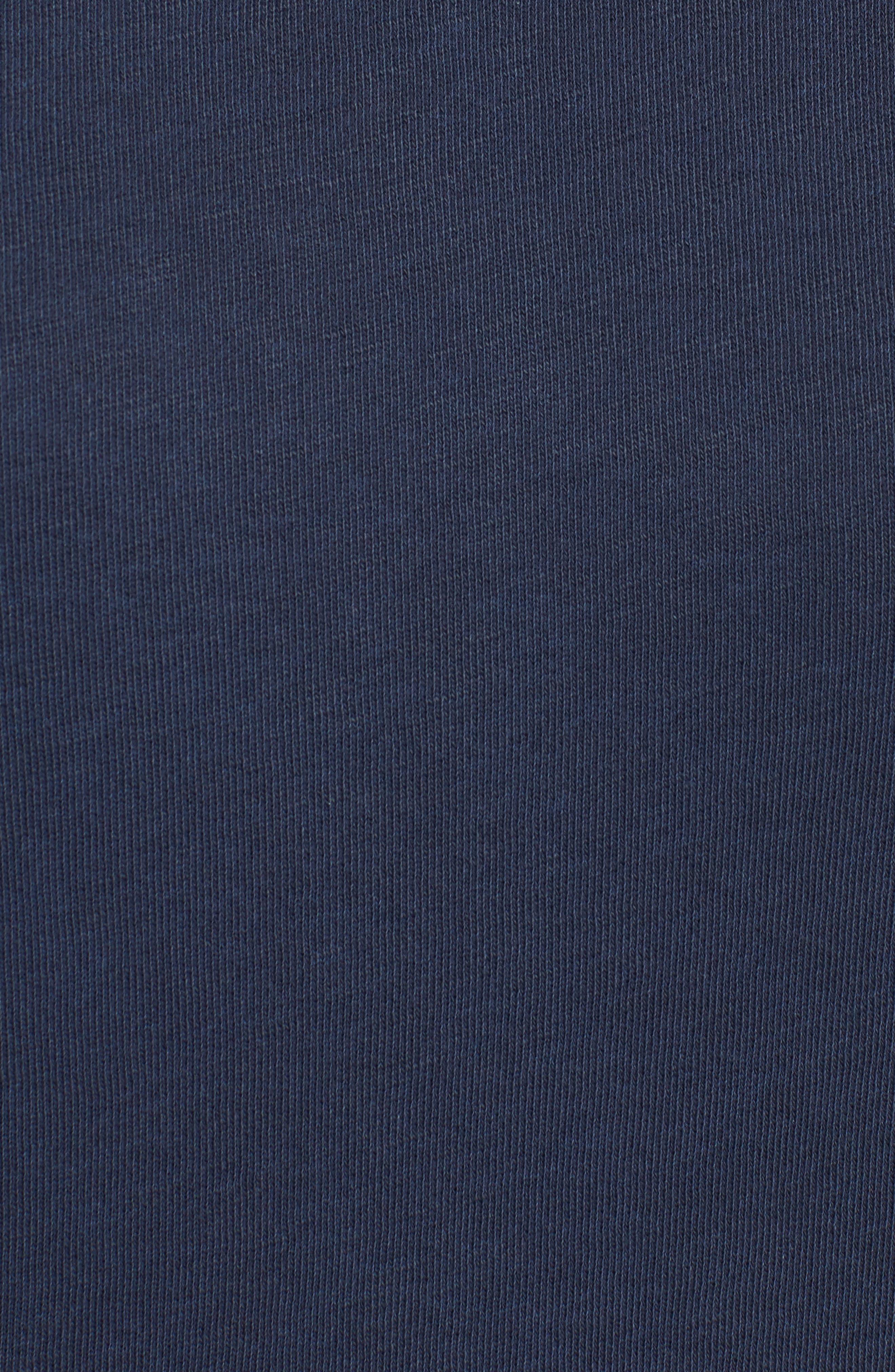 Alternate Image 5  - James Perse Raglan Sleeve Sweatshirt Dress