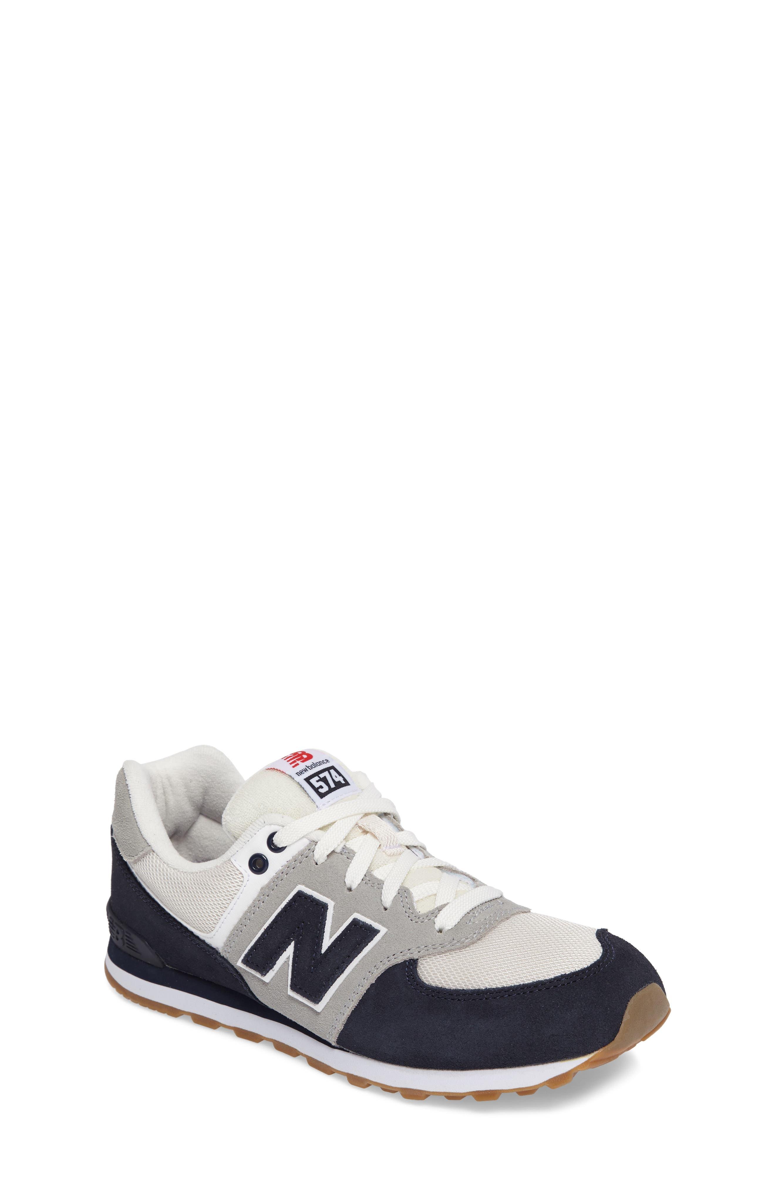 New Balance 574 Resort Sporty Sneaker (Big Kid)