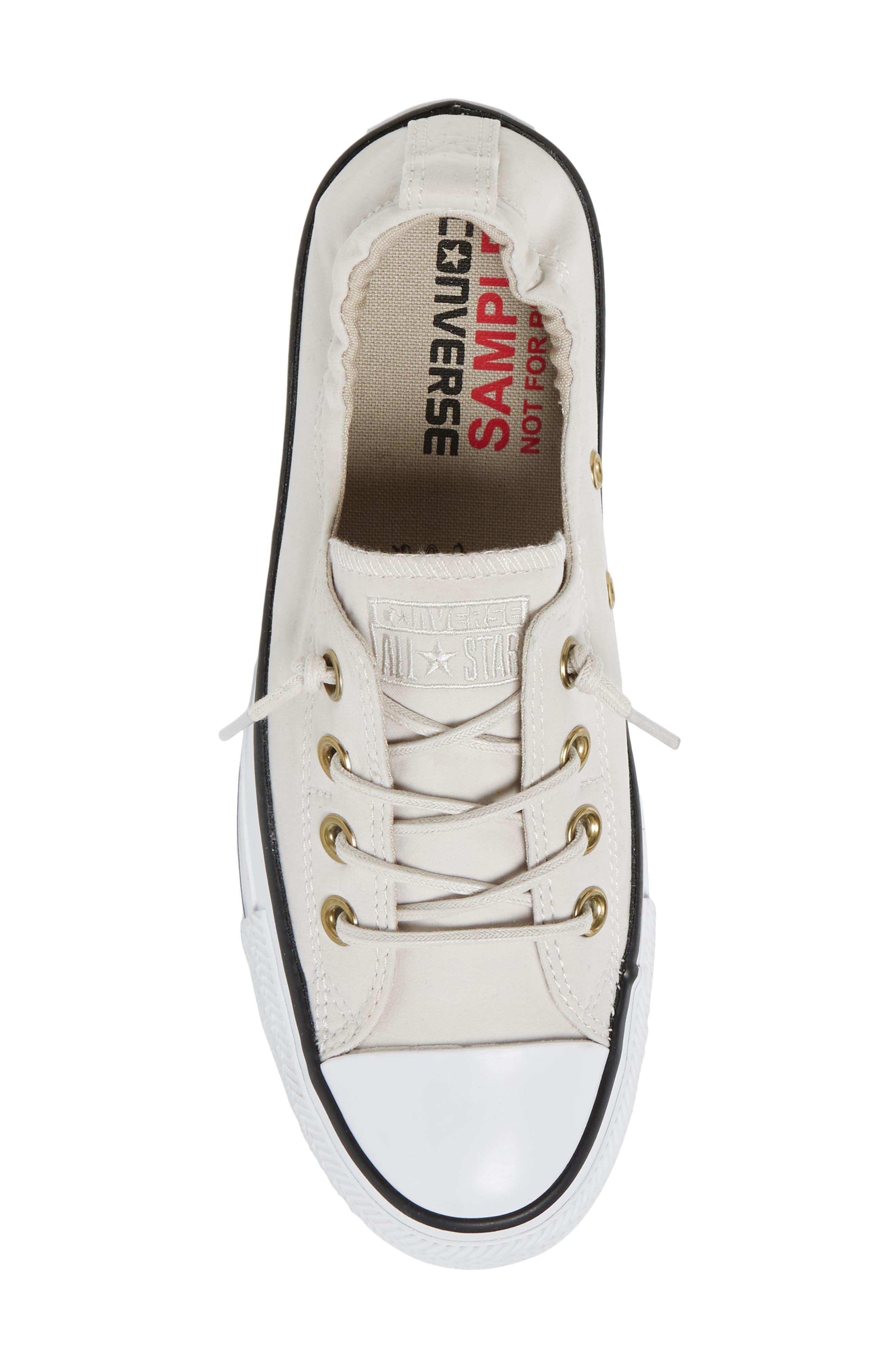Alternate Image 5  - Converse Chuck Taylor® All Star® Shoreline Peached Twill Sneaker (Women)