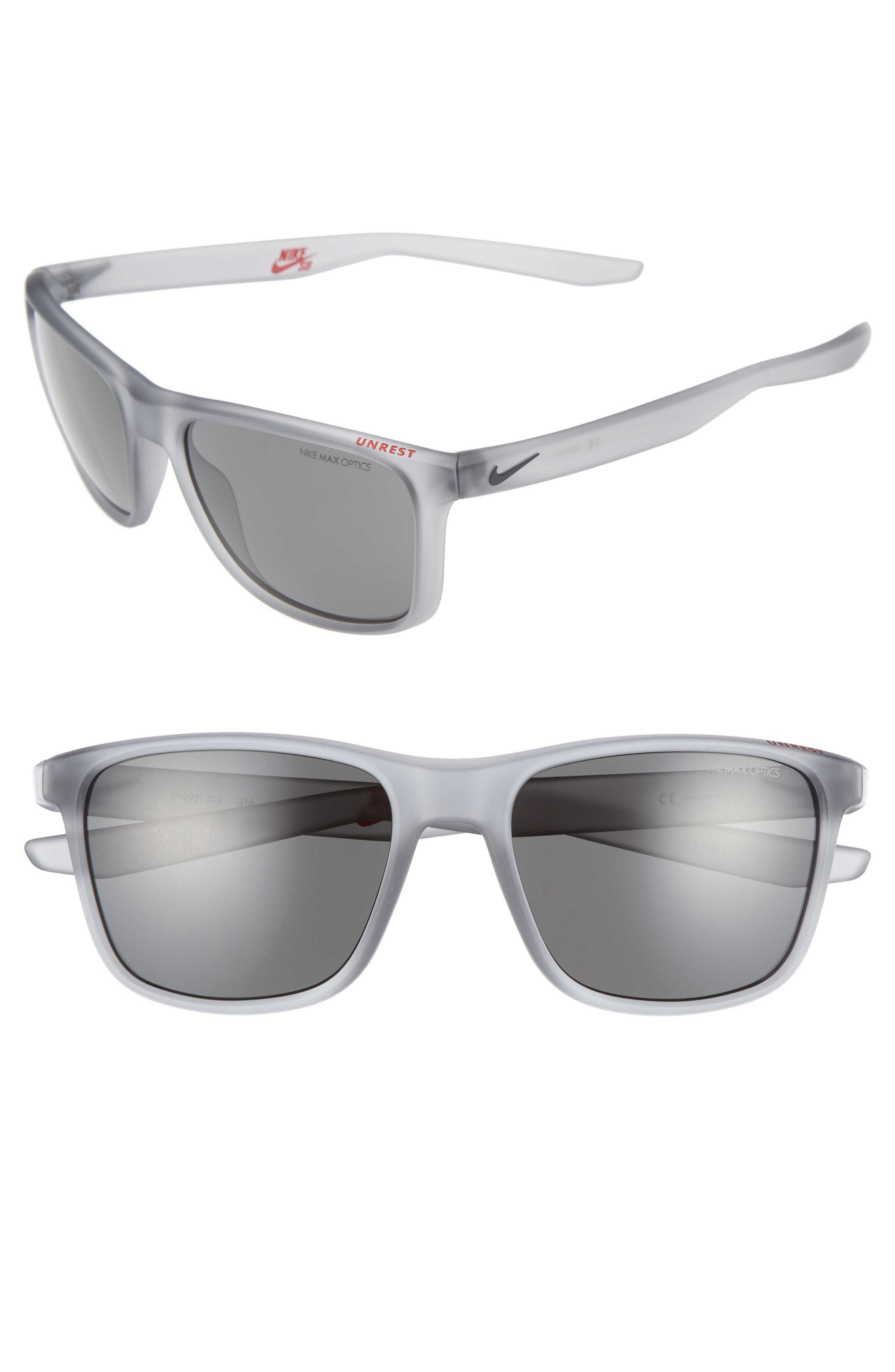 Nike Unrest 57mm Sunglasses