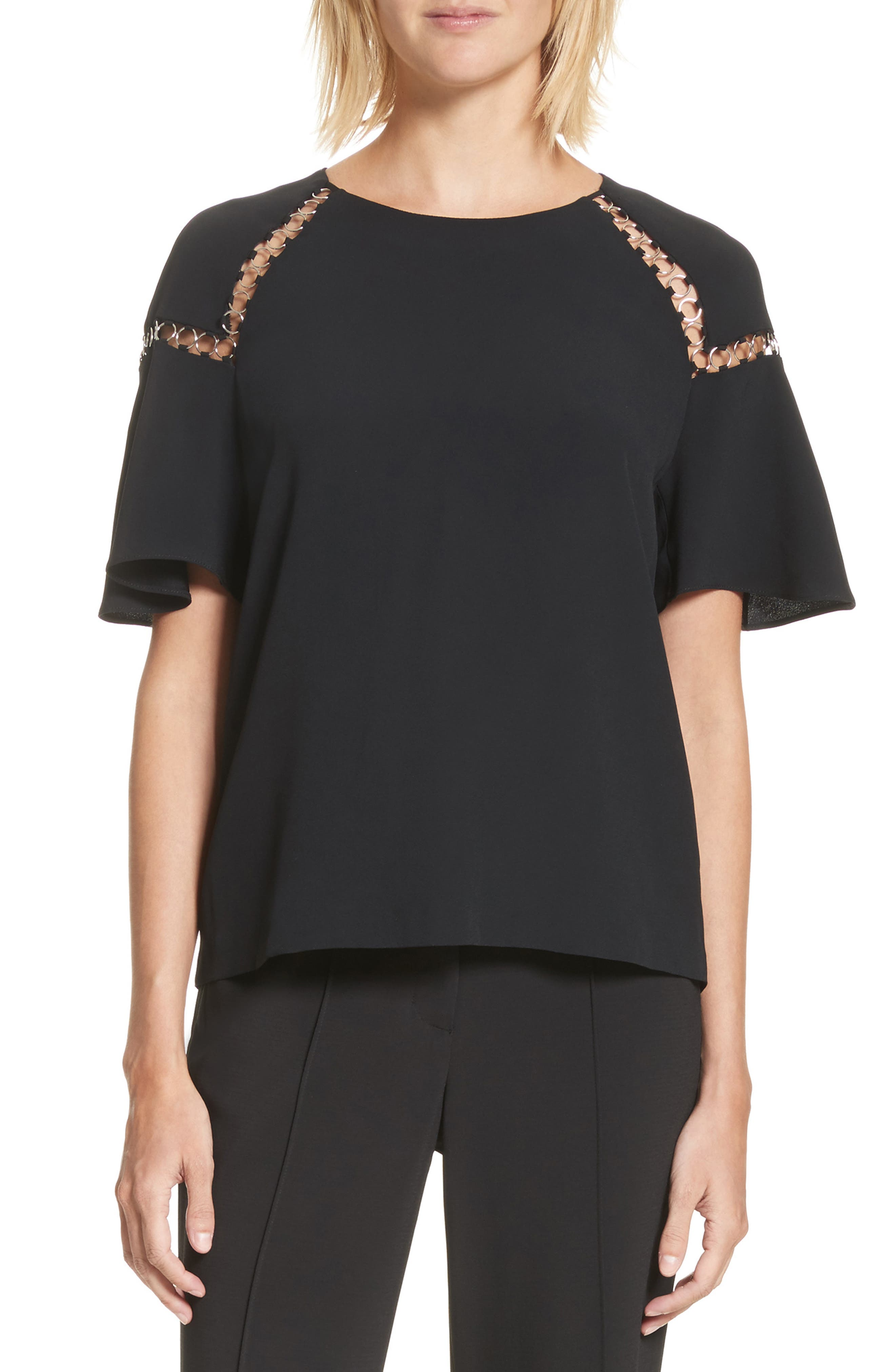A.L.C. Sheila Cutout Top