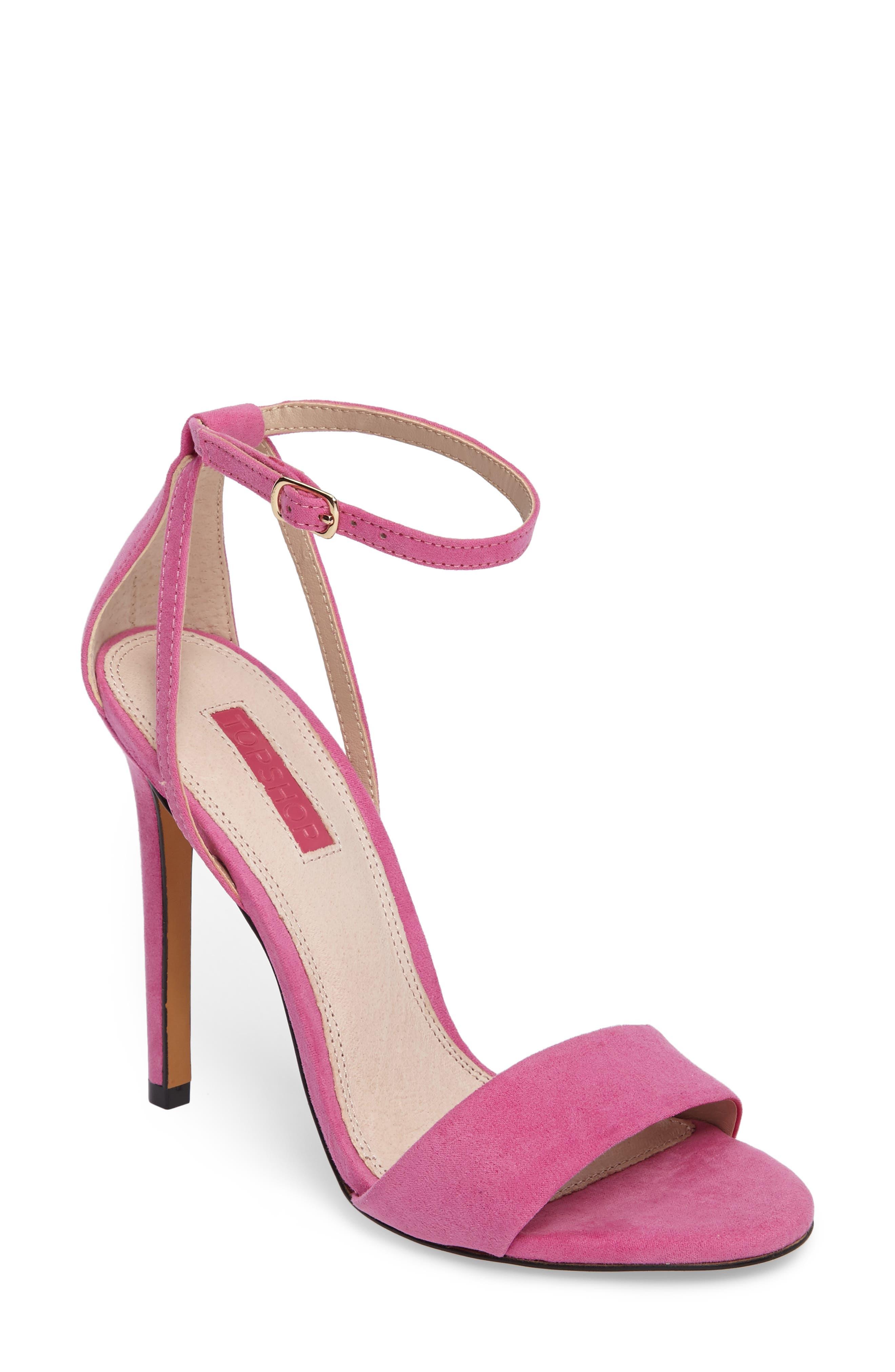 Main Image - Topshop Raphael New Genuine Calf Hair Sandal (Women)