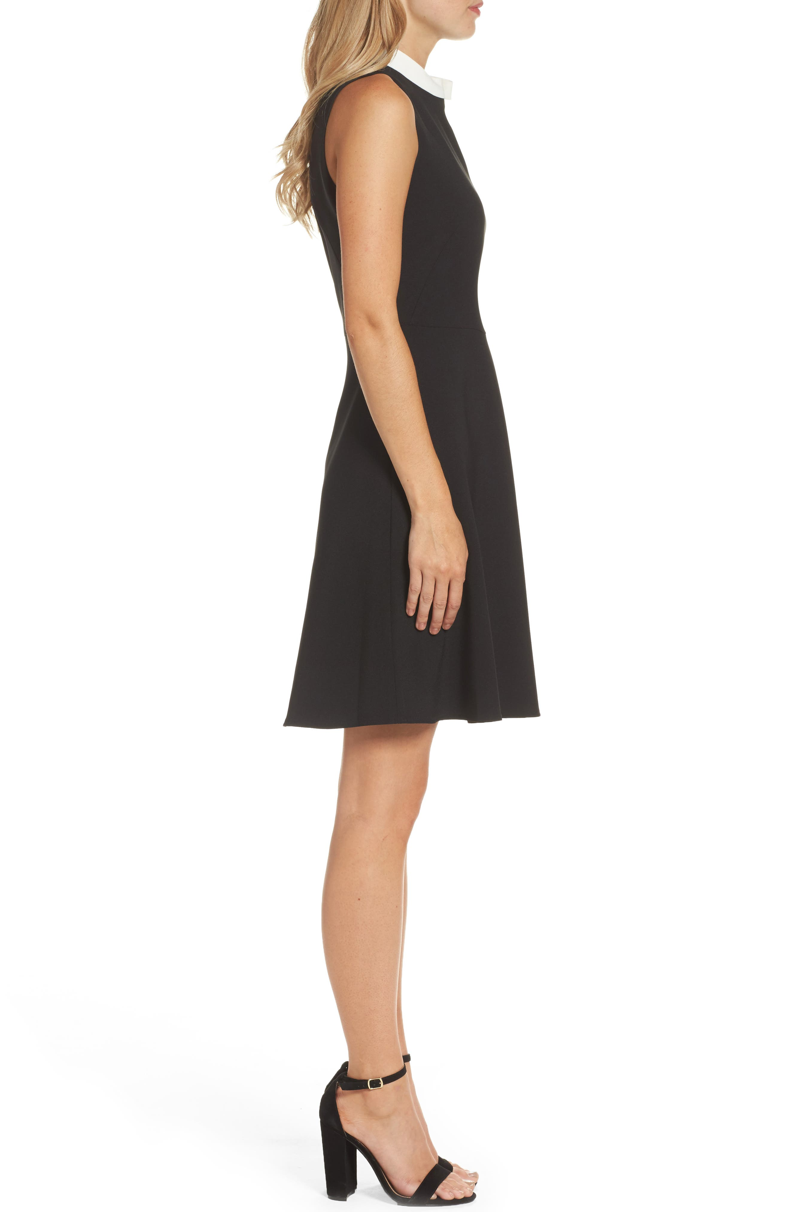 Alternate Image 3  - Maggy London Bow Fit & Flare Dress