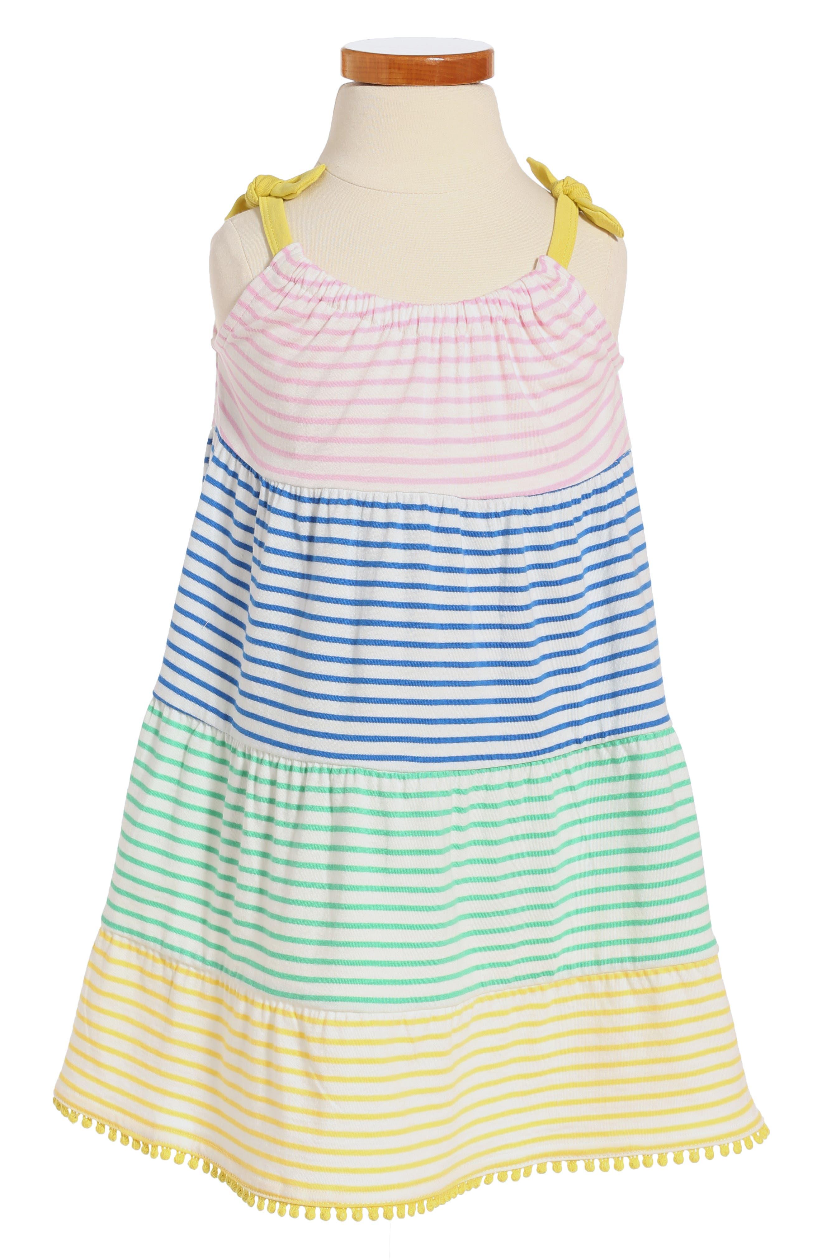 Mini Boden Jersey Sundress (Toddler Girls, Little Girls & Big Girls)