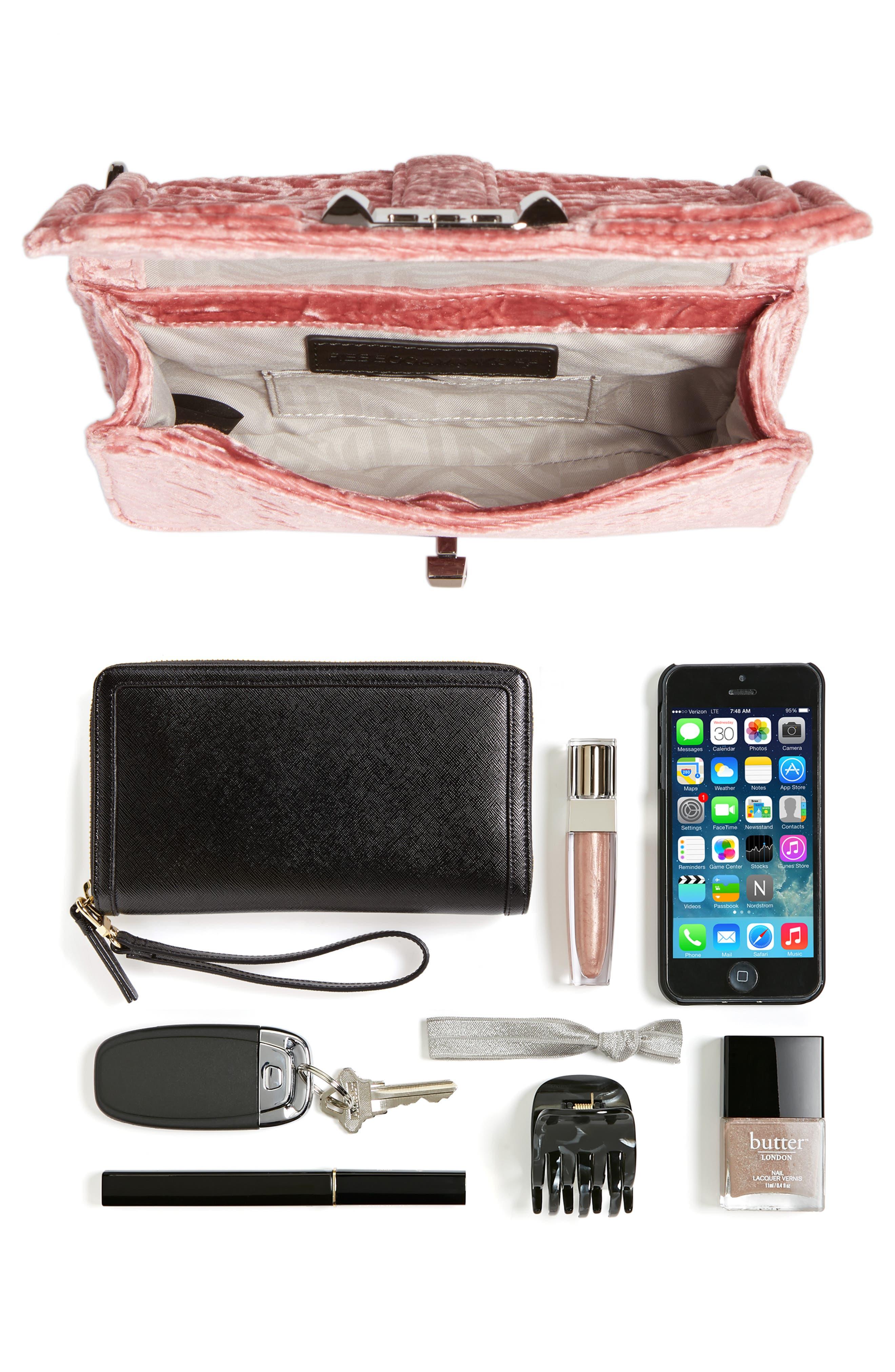 Alternate Image 7  - Rebecca Minkoff Small Love Velvet Crossbody Bag (Nordstrom Exclusive)