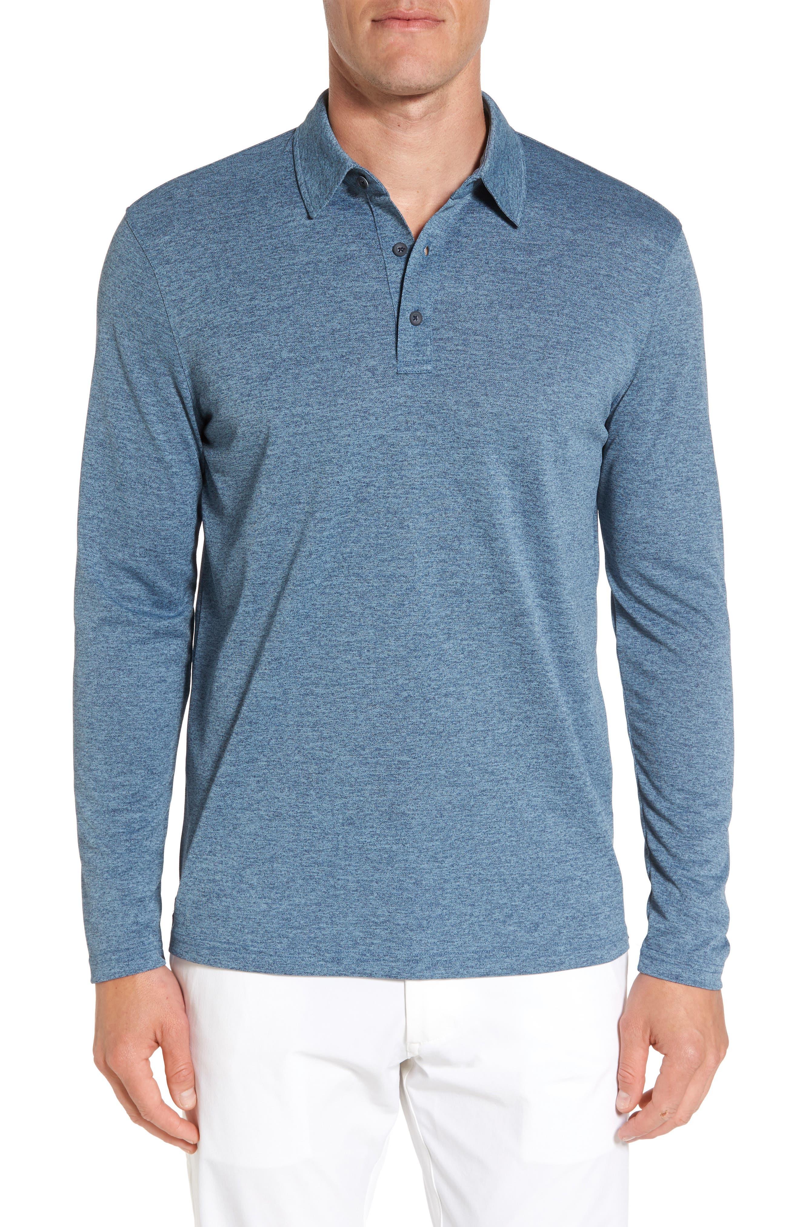 AG Hamden Long Sleeve Polo