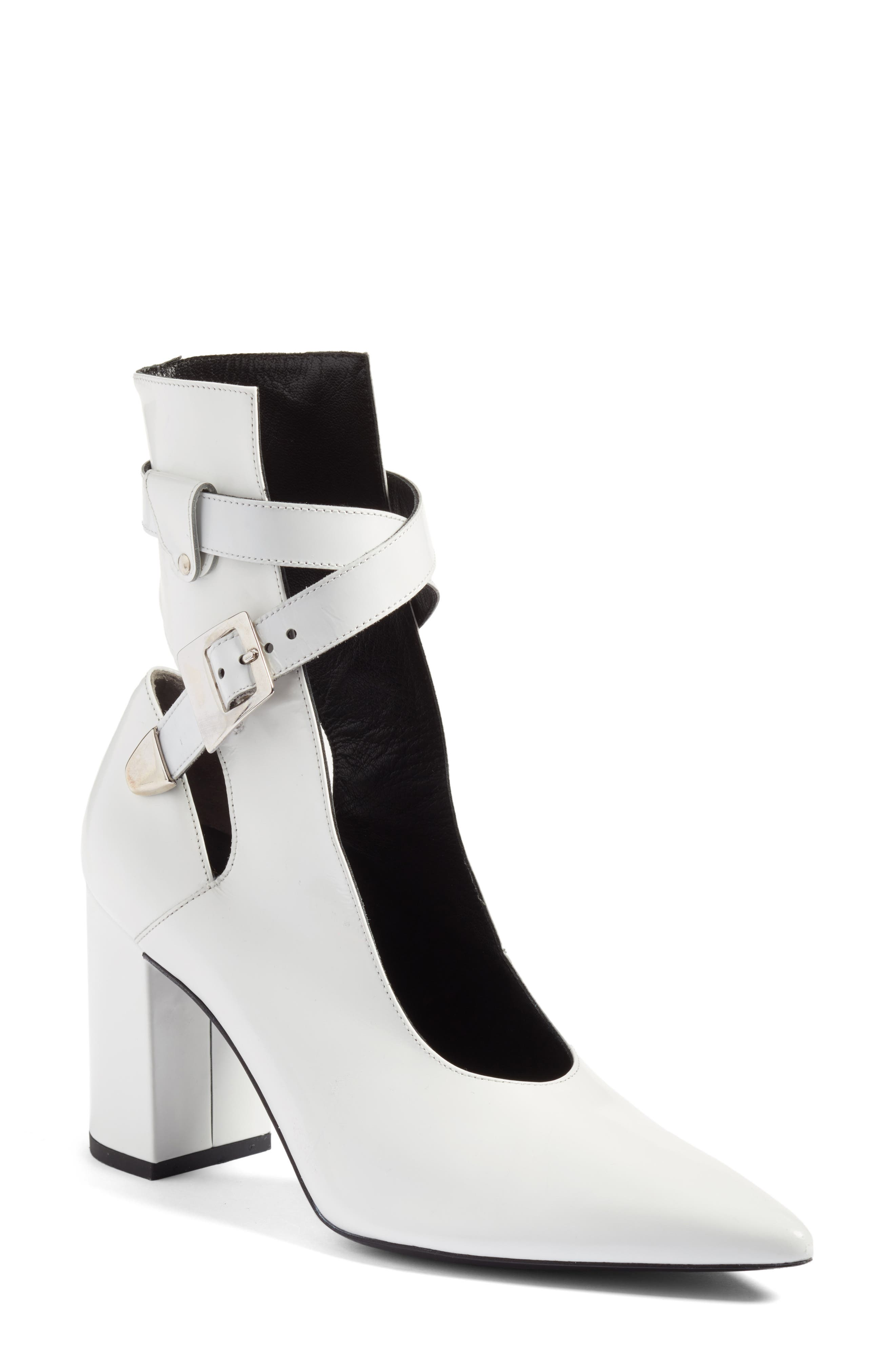 Robert Clergerie Kult Pointy Toe Bootie (Women)