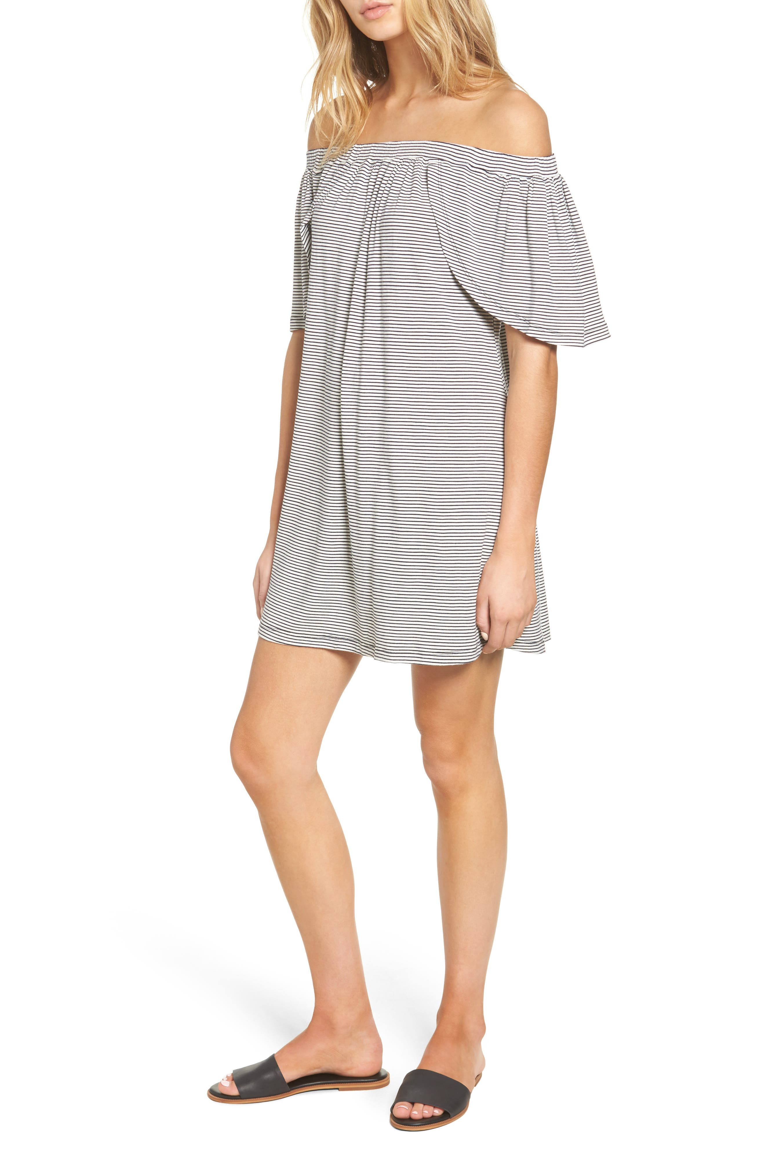 Delacy Marley Off the Shoulder Minidress