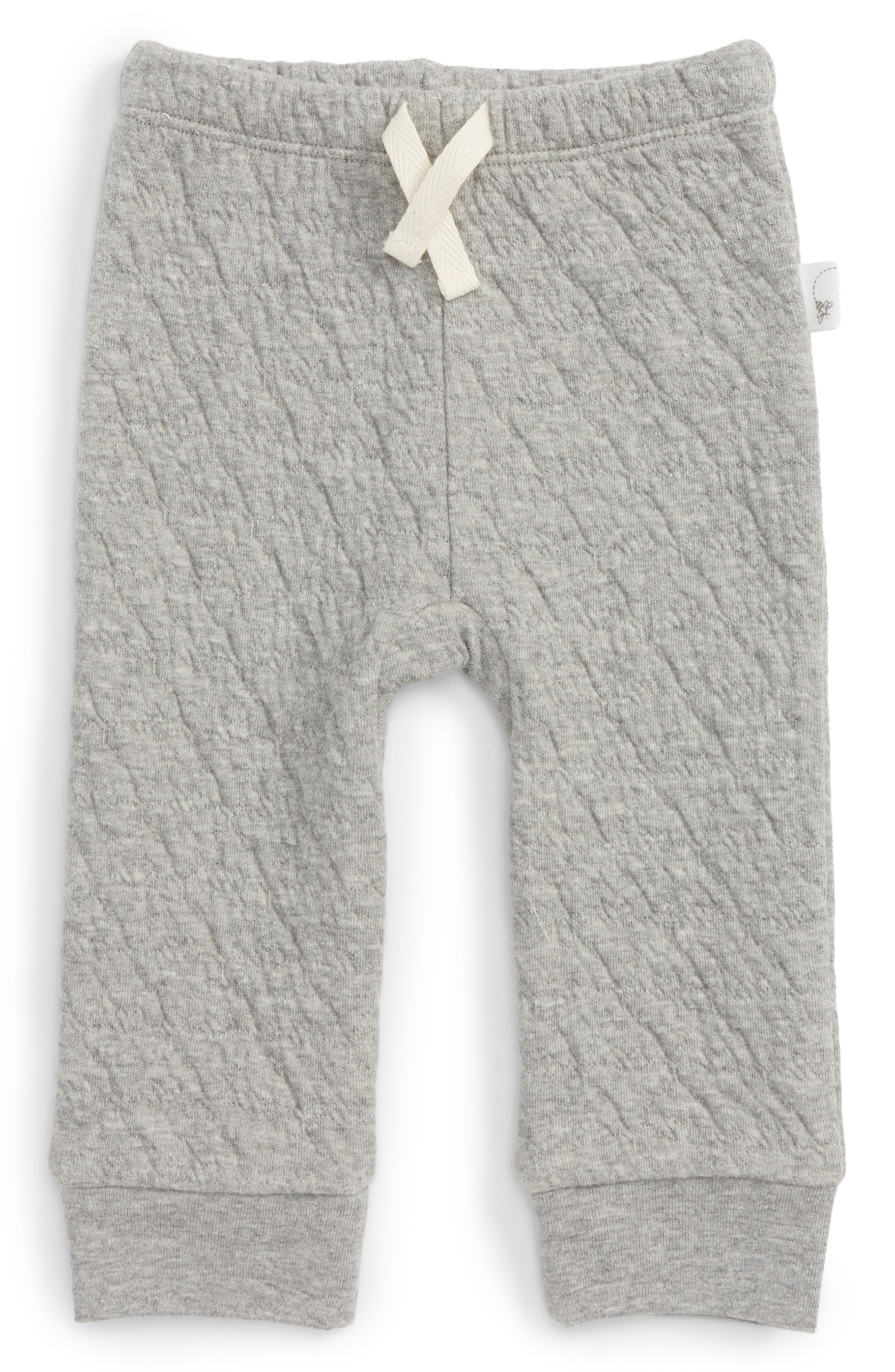 Burt's Bees Baby Quilted Organic Cotton Pants (Baby)