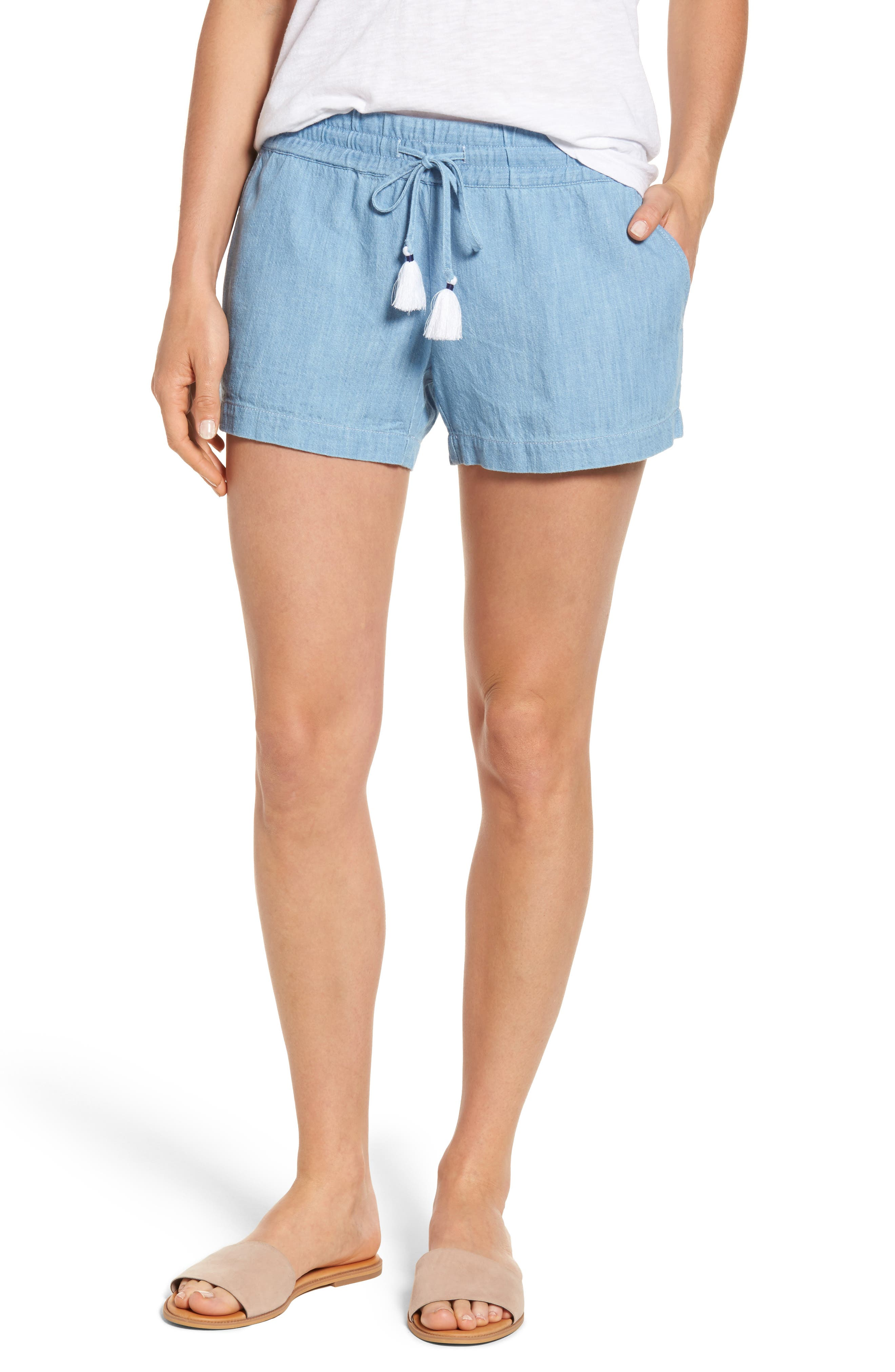 Vineyard Vines Drawstring Chambray Shorts