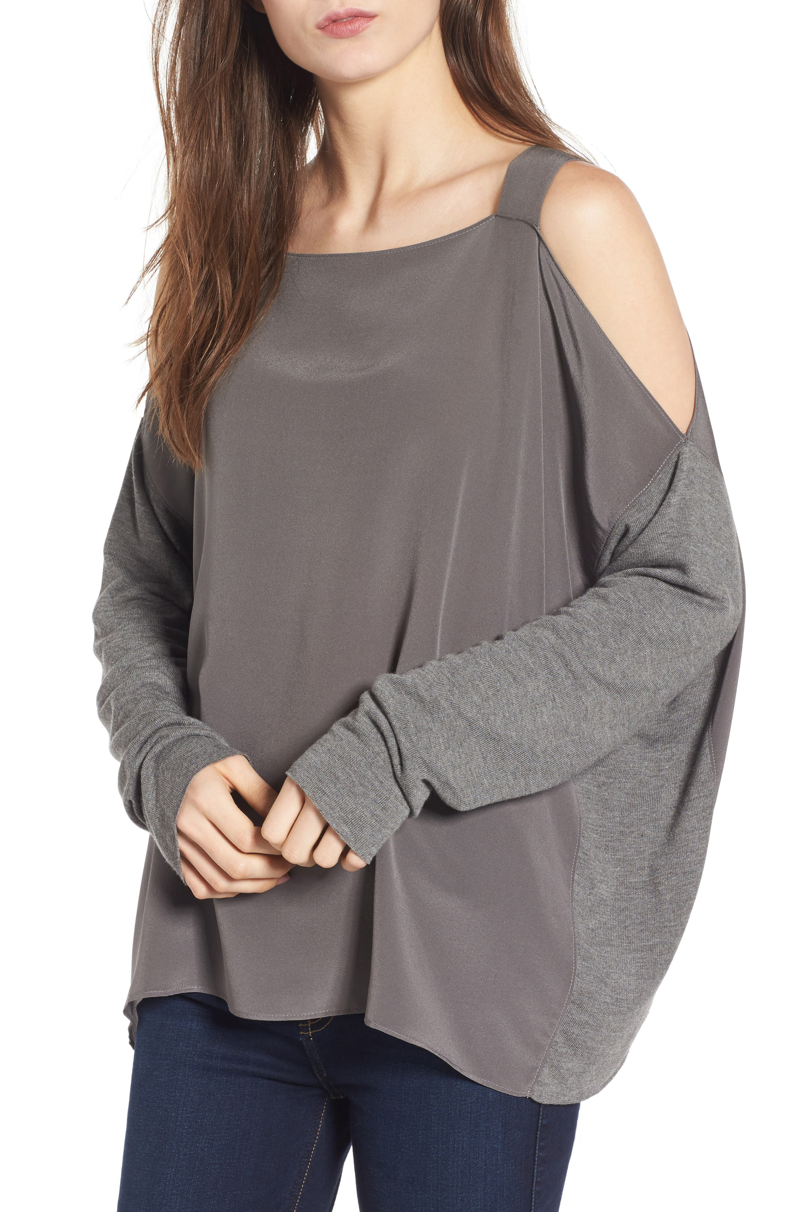 Bailey 44 Fencing Cold Shoulder Top