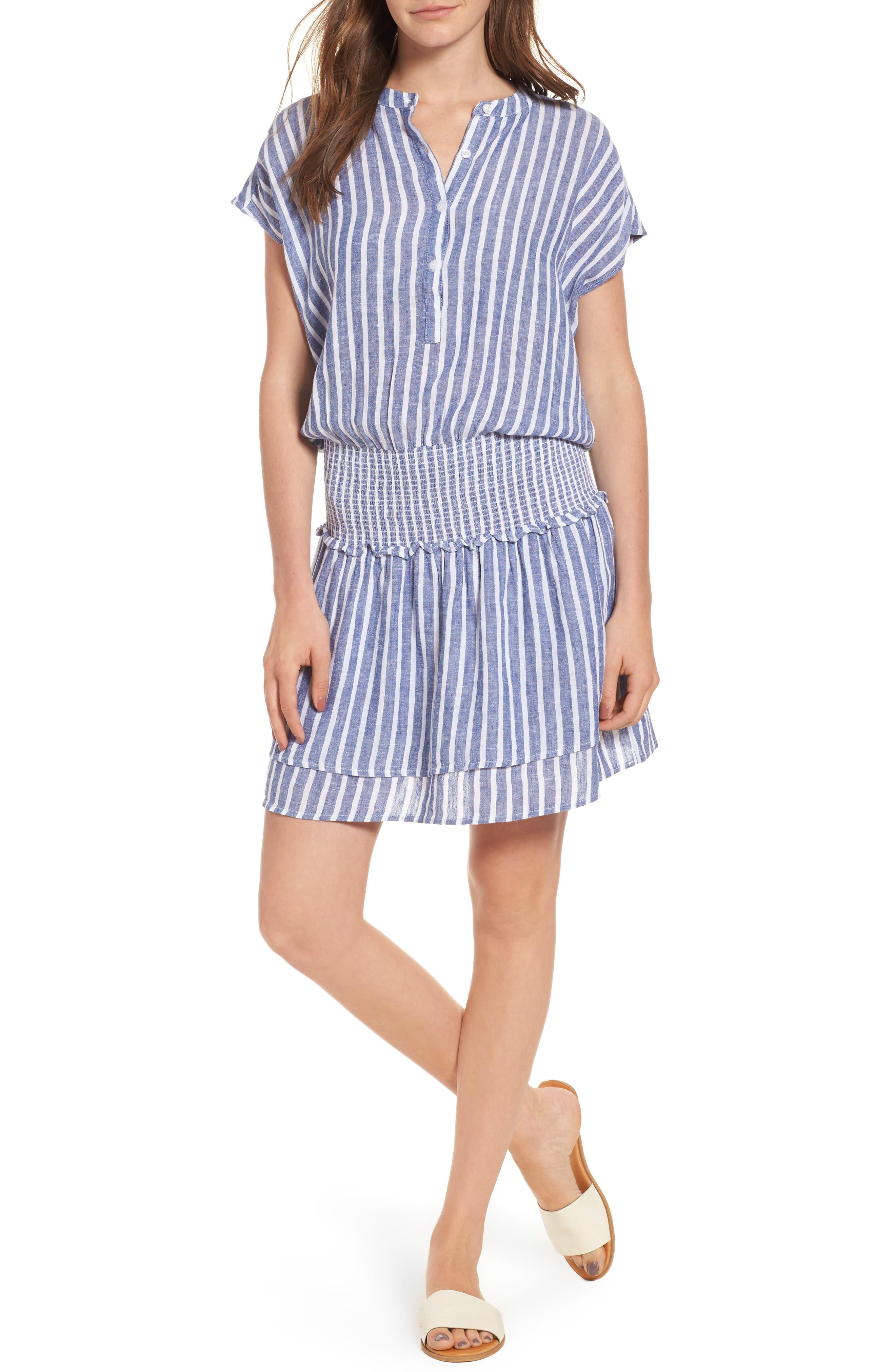 Rails Jolie Stripe Blouson Dress