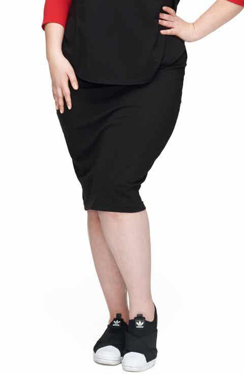 UNIVERSAL STANDARD Danube Jersey Skirt (Plus Size)