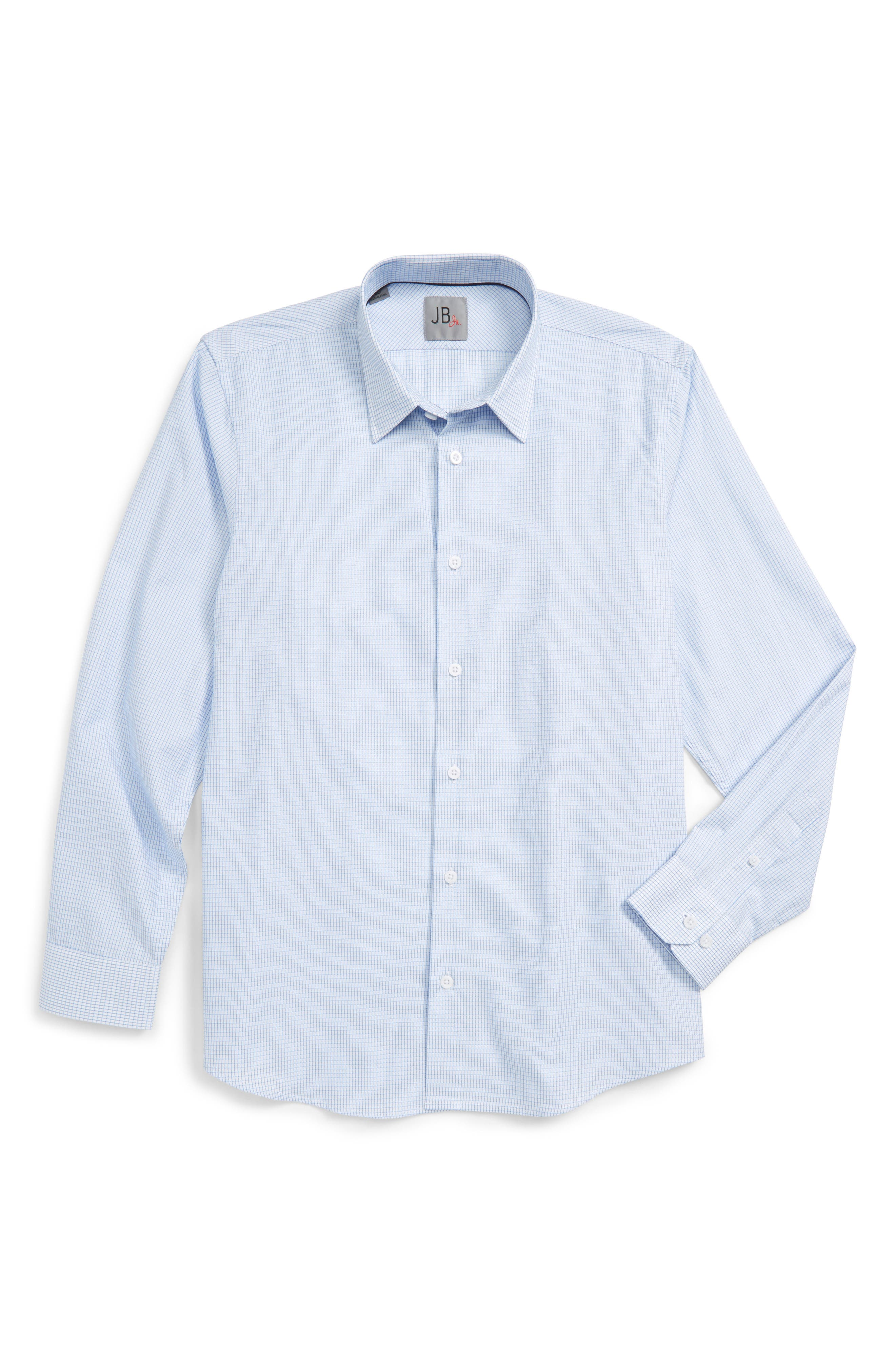 JB Jr Check Dress Shirt (Big Boys)