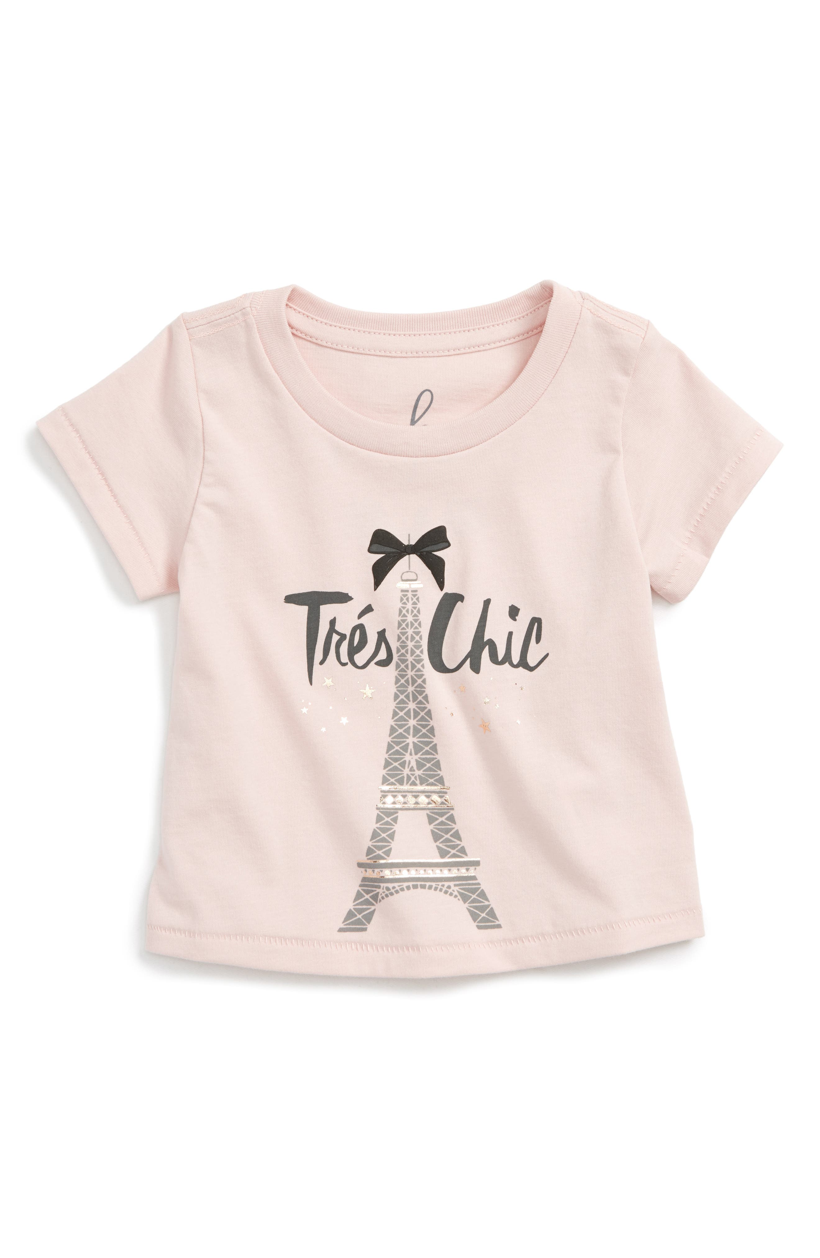 Peek Trés Chic Graphic Tee (Baby Girls)