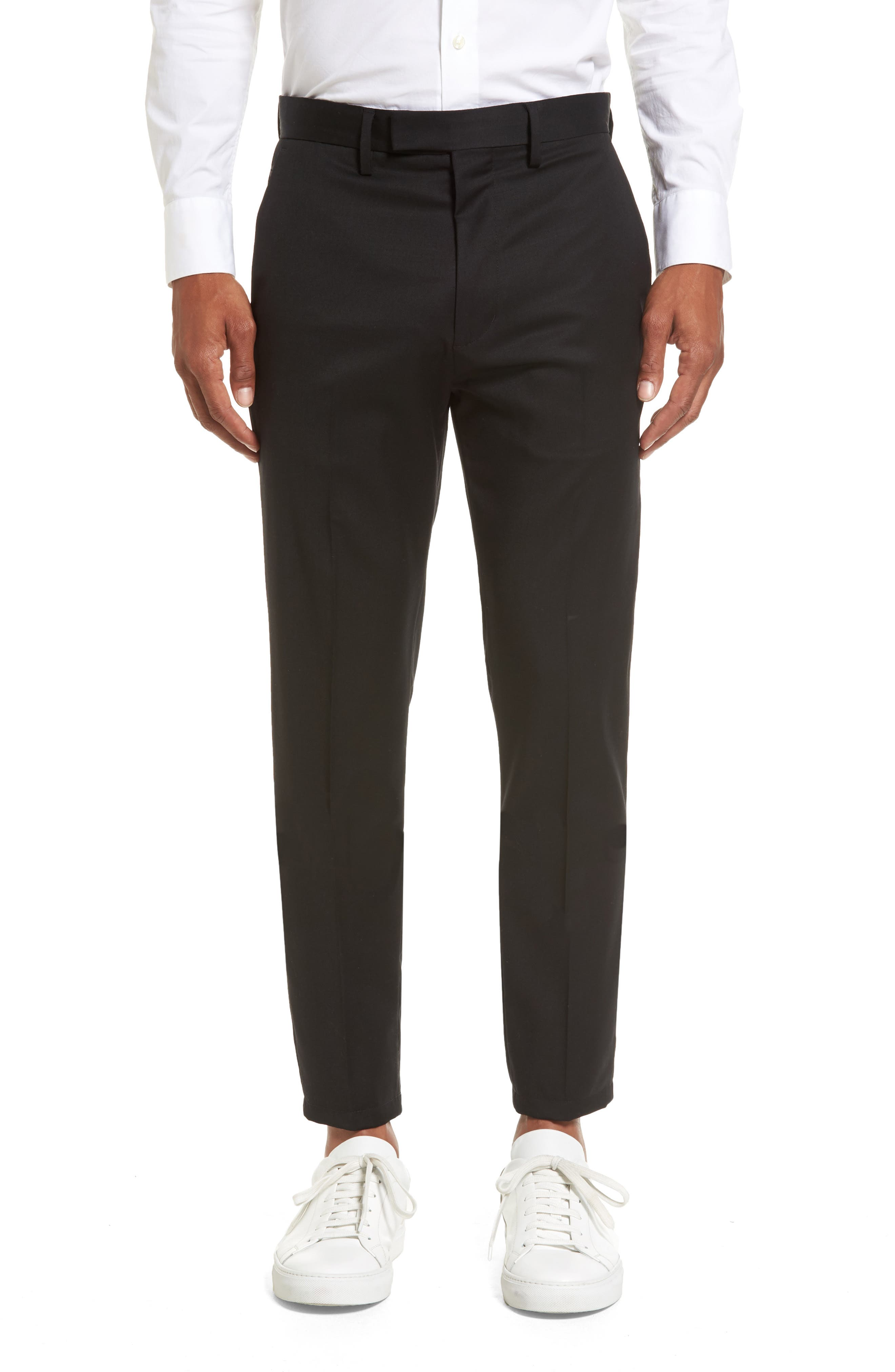 Calibrate Slim Wool Trousers