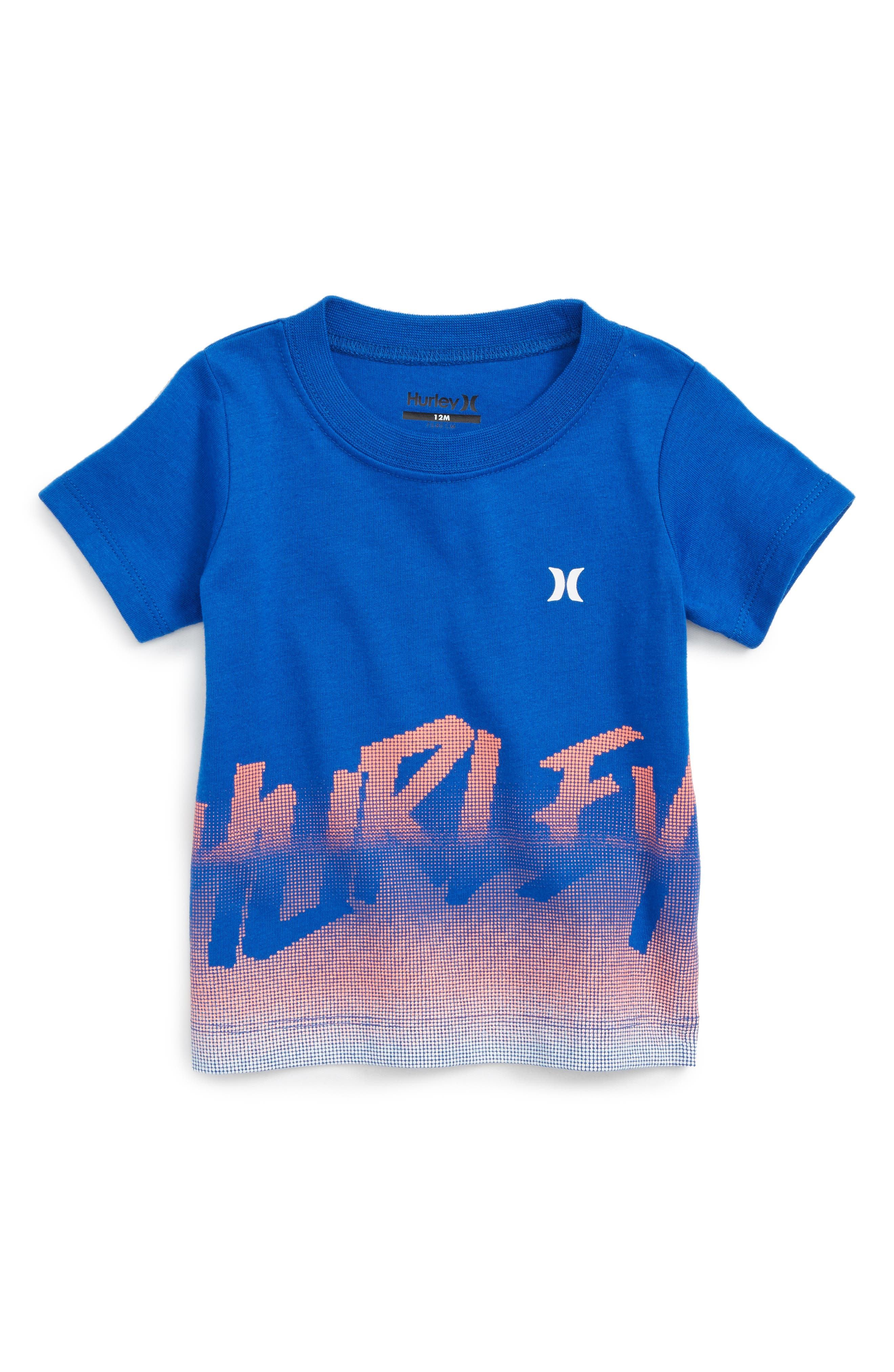 Hurley Bitmapped Graphic T-Shirt (Baby Boys)