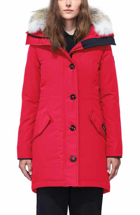 Red Down & Puffer Jackets for Women | Nordstrom