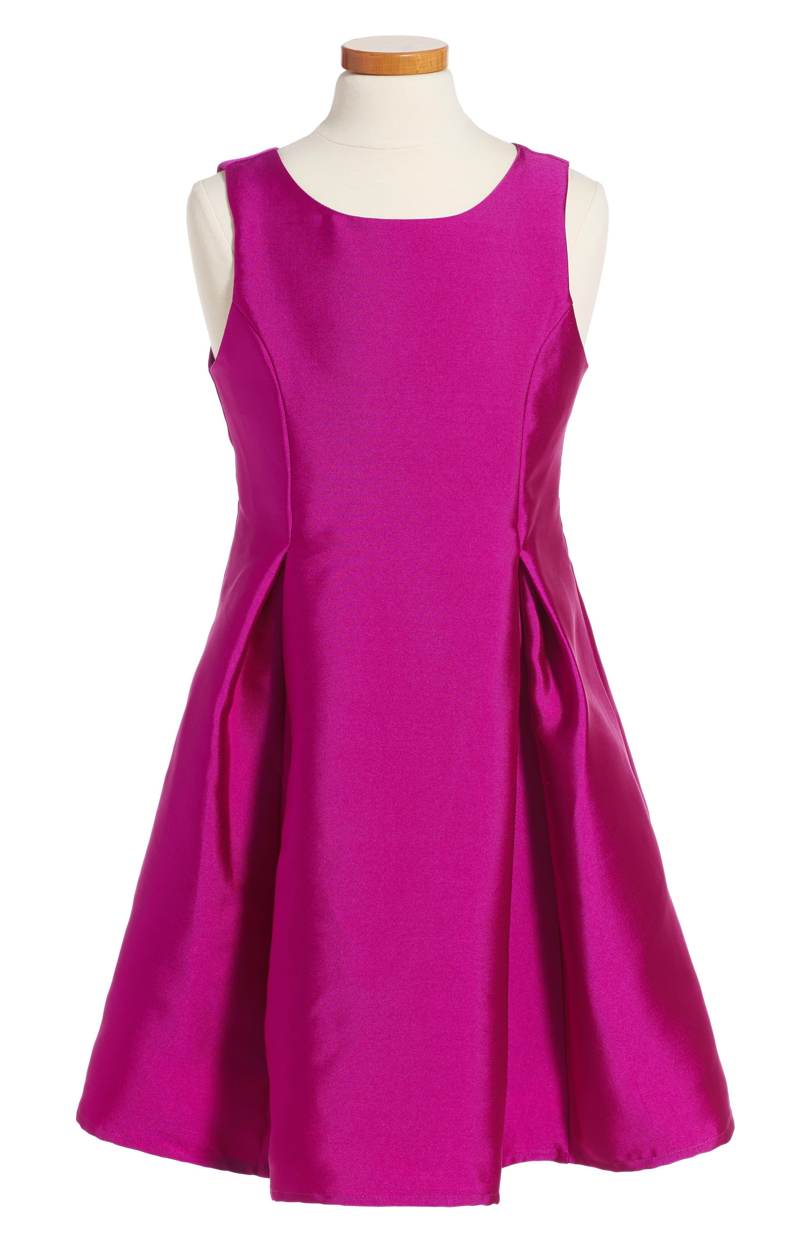 Soprano Fit & Flare Dress (Big Girls)
