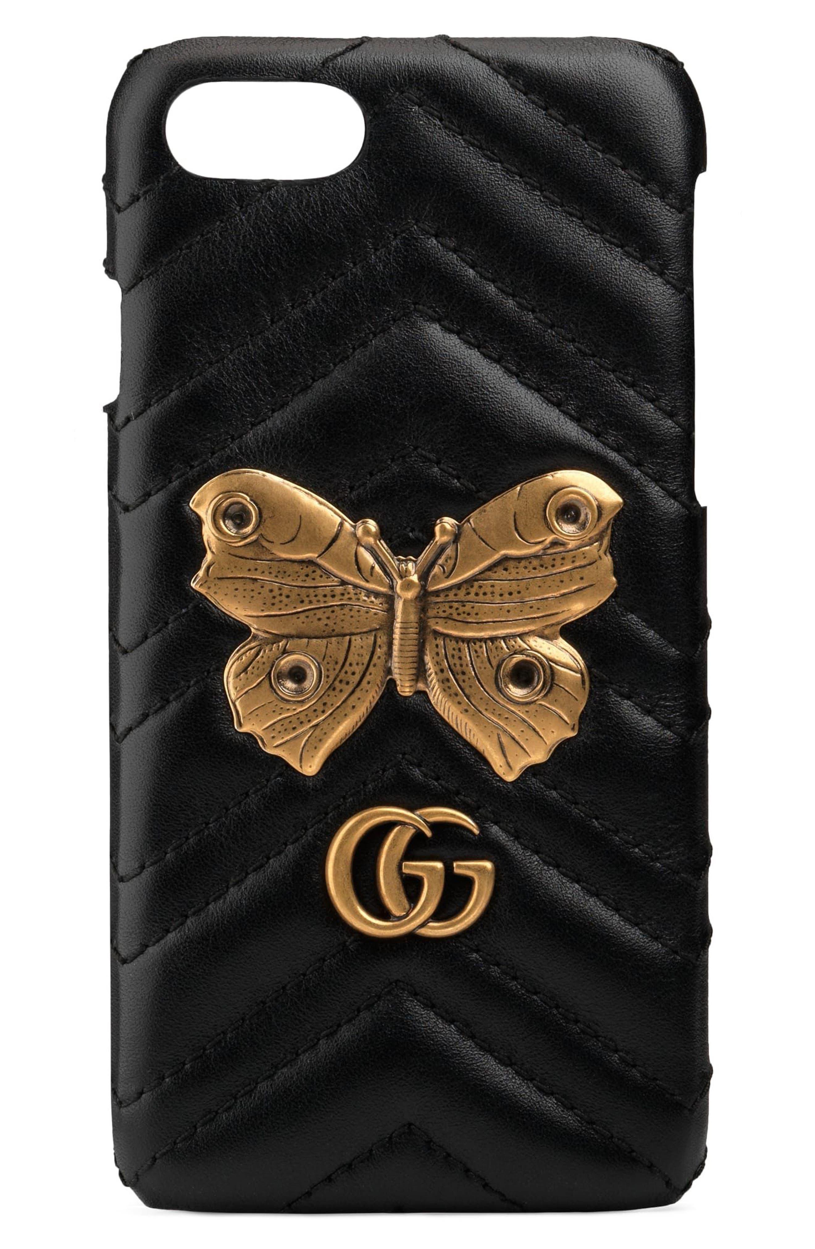 Gucci GG Marmont 2.0 Matelassé Leather iPhone 7 Case