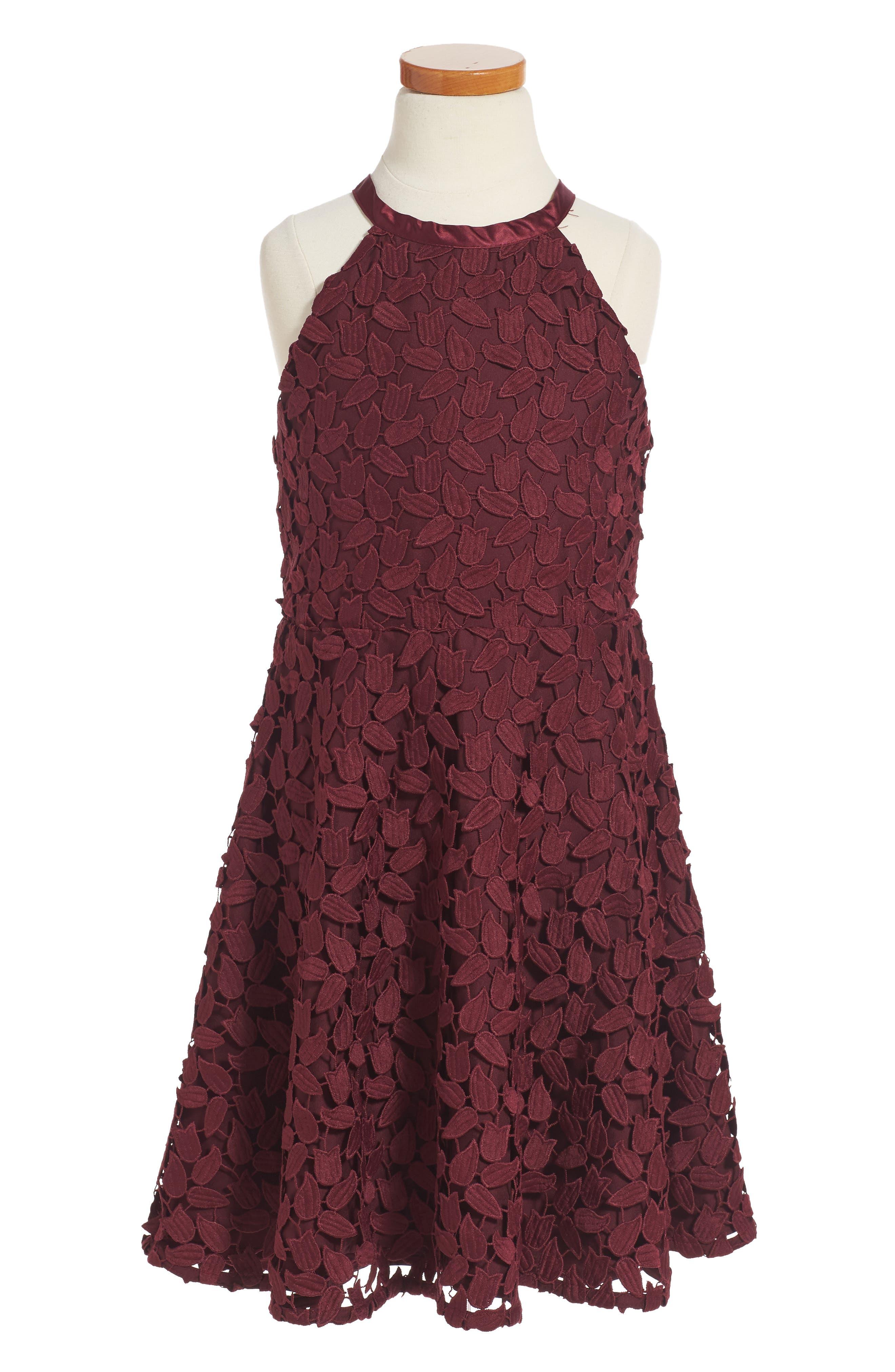 Bardot Junior Grace Leaf Dress (Big Girls)